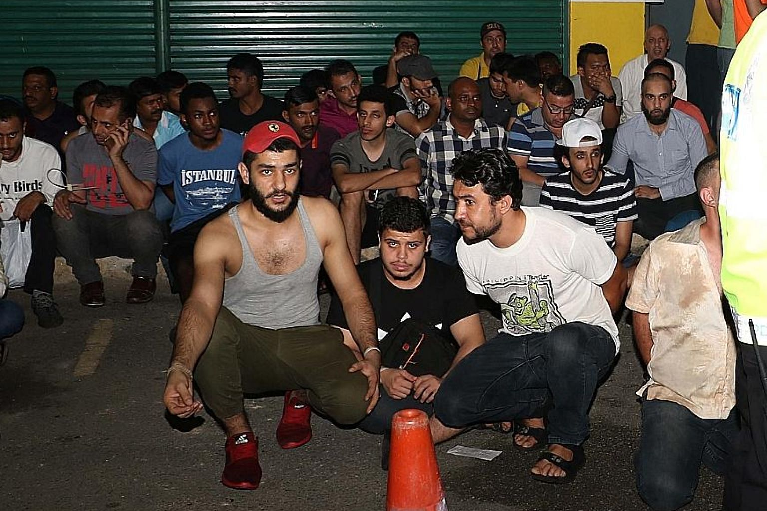 Foreigners being held after raids on Wednesday. Deputy Prime Minister Ahmad Zahid Hamidi has said that the authorities were looking for 16 people allegedly deported from Turkey.