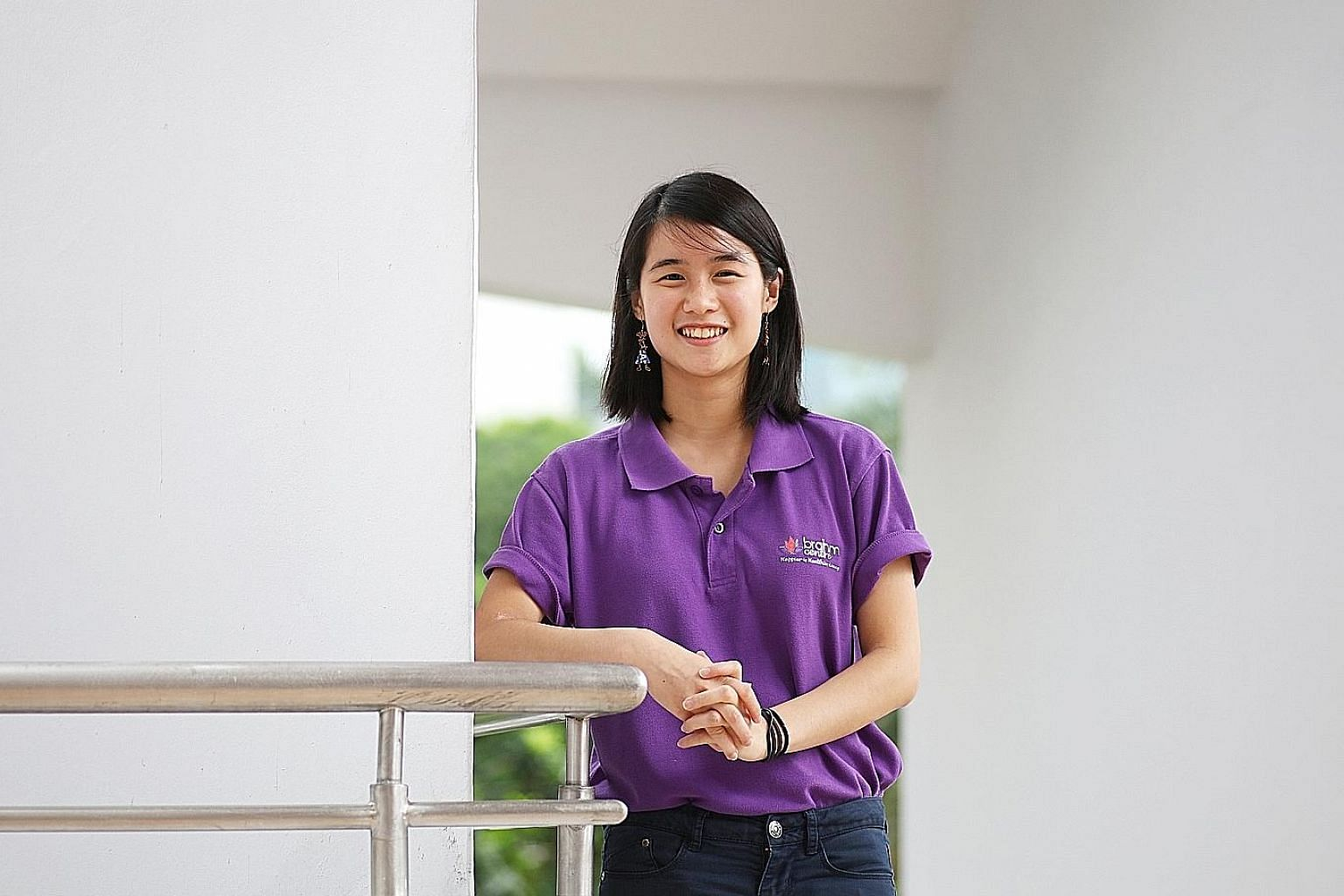 Ms Chew Chia Shao Wei works as an assistant care coordinator at Brahm Centre. She visits the homes of elderly residents who have, or are at risk of having, mental illnesses, assesses their needs and coordinates the help given. She also conducts resea