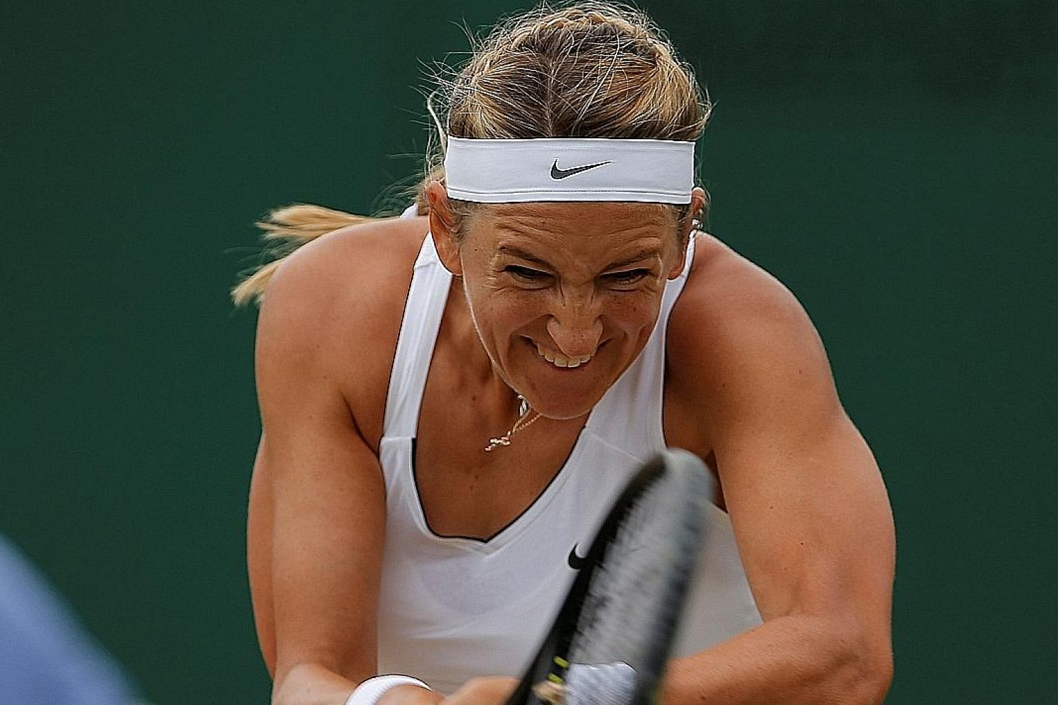 Two-time Grand Slam champion Victoria Azarenka is adamant that she will not go anywhere without her son and will miss tournaments while legal processes prevent her from taking eight-month-old Leo out of California.