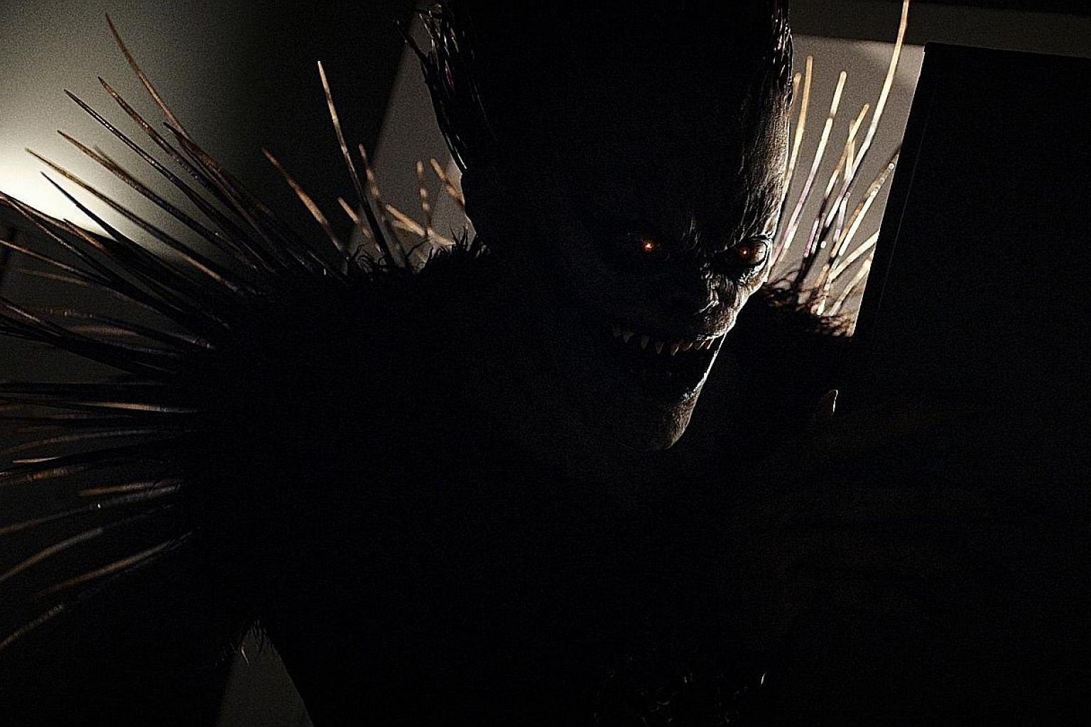 Veteran actor Willem Dafoe voices Ryuk, a shinigami, or god of death, in Netflix's live-action movie adaptation of Death Note.