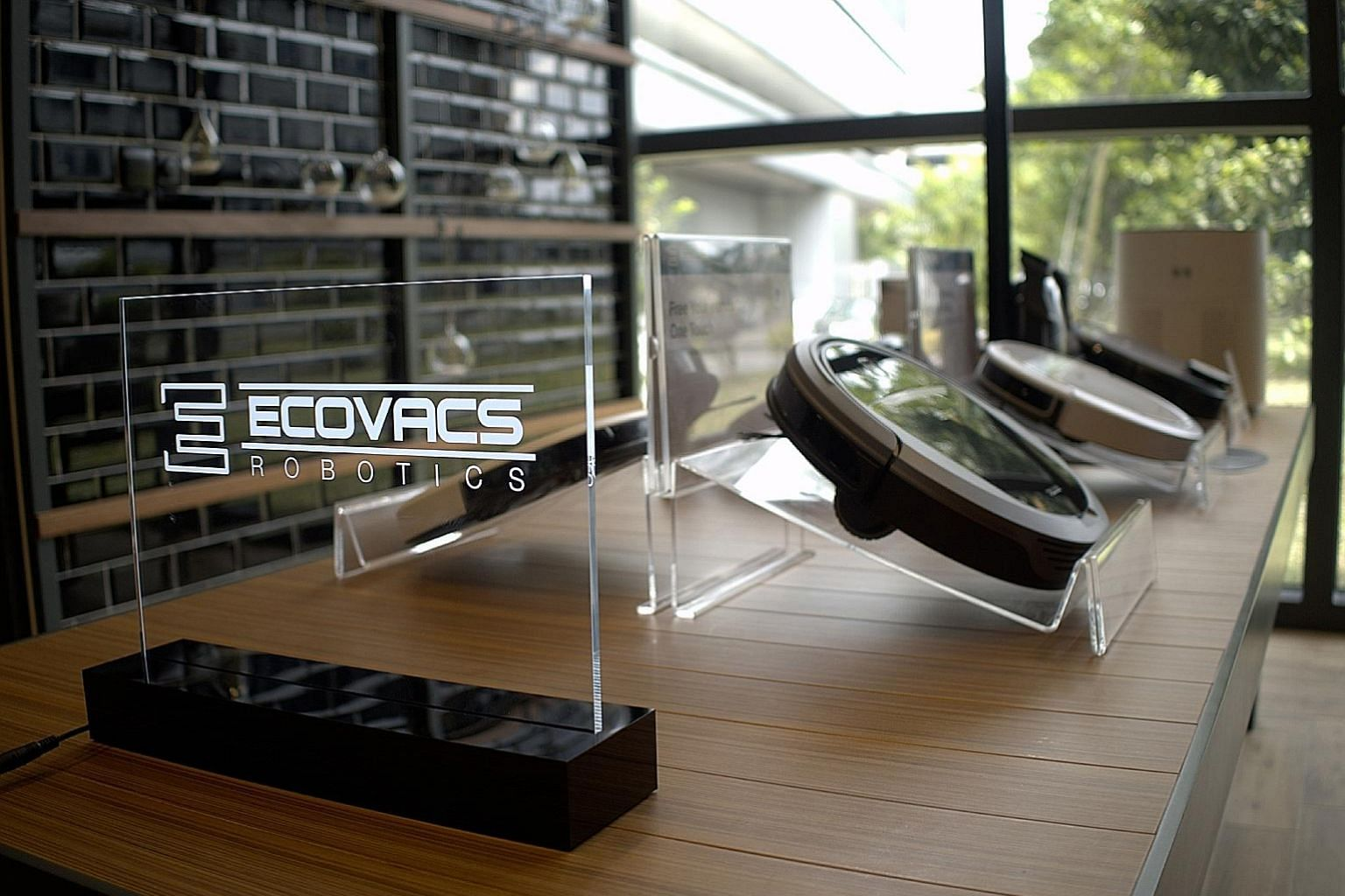 China's top maker of robot vacuum cleaners Ecovacs launched its range of products in Singapore last month.