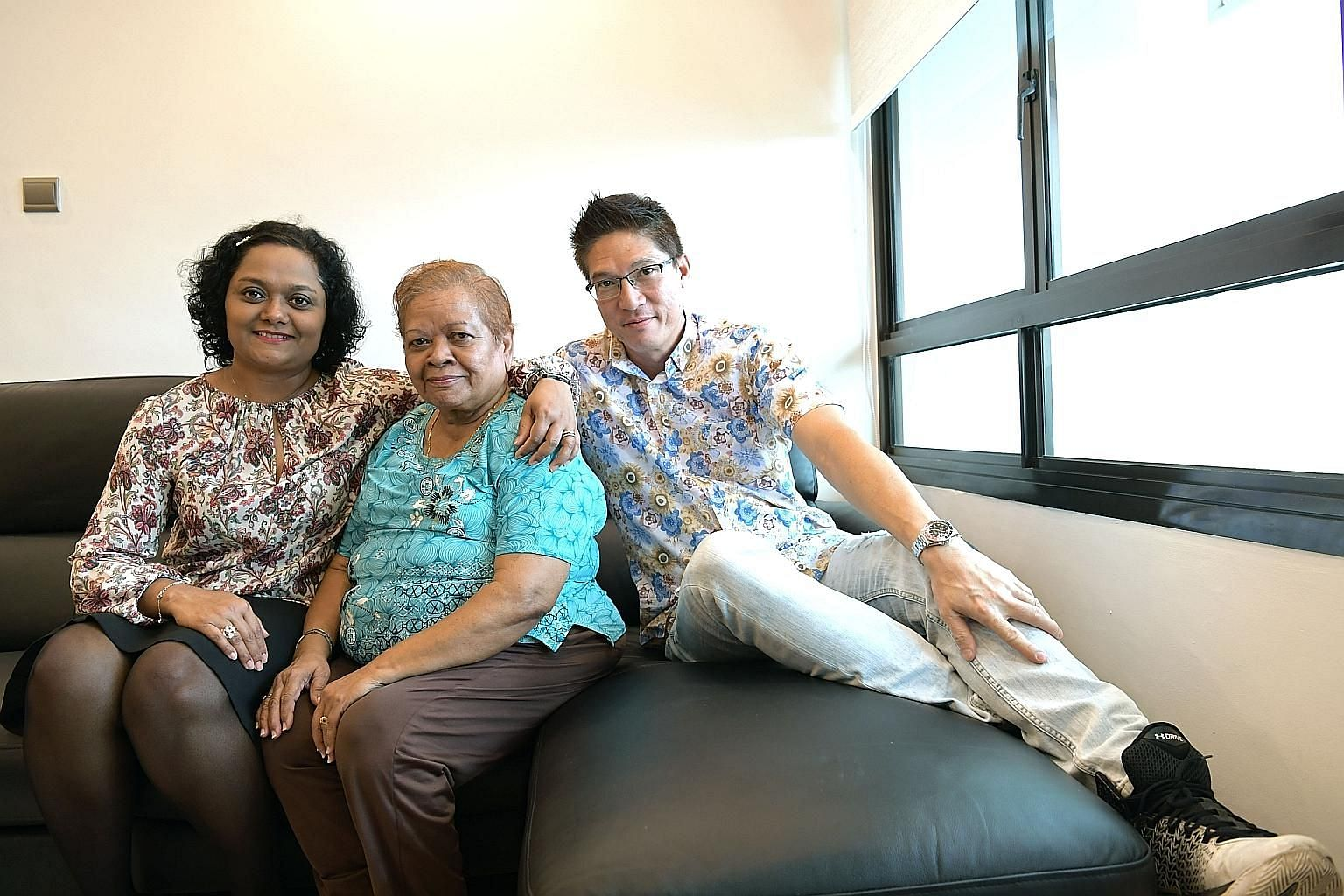 Ms Jacqueline Enoch plans to go for the health screening with her husband Gerard Tan and mother Maria Vasavan. The screening includes a consultation with a doctor when the results are known, and can be done at more than 1,000 general practice clinics