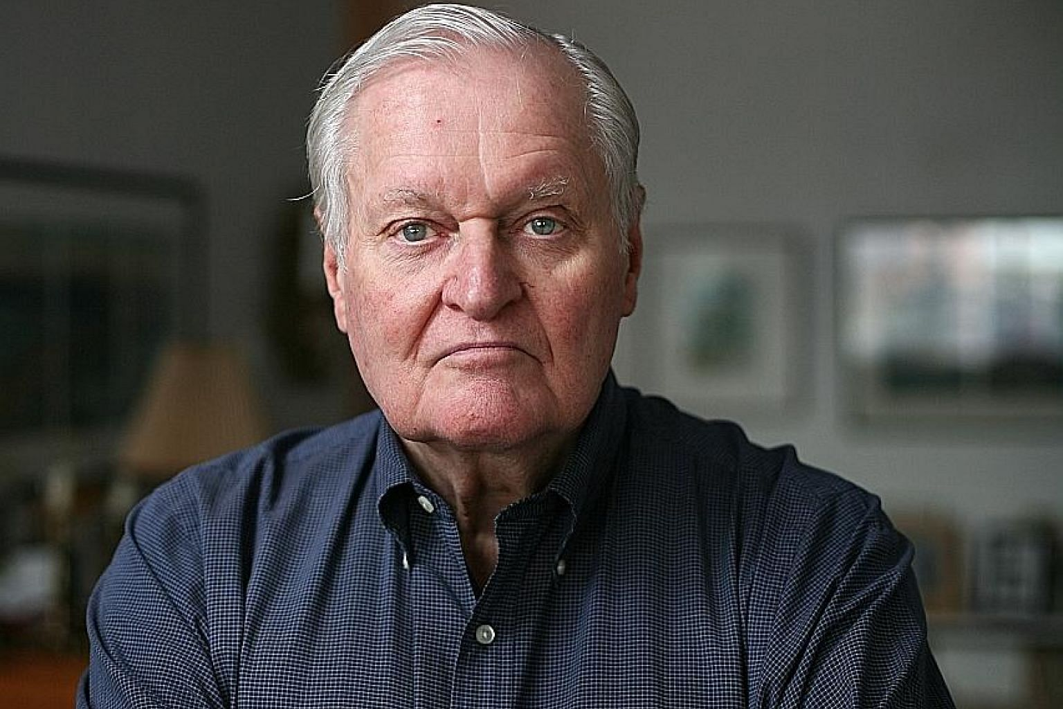 In 1976, John Ashbery (seen here in a 2008 photo) became the first to win the triple crown of literary prizes - the Pulitzer, National Book Award and National Book Critics Circle Award - for Self-Portrait In A Convex Mirror.