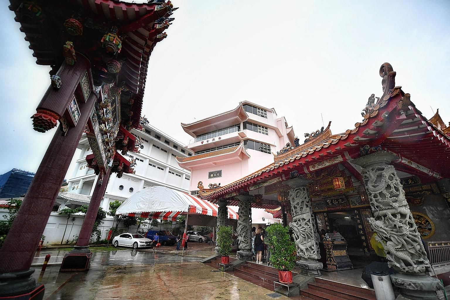 Kiew Sian King Temple is one of the landmarks along the trail, which is the 17th heritage trail by the National Heritage Board.