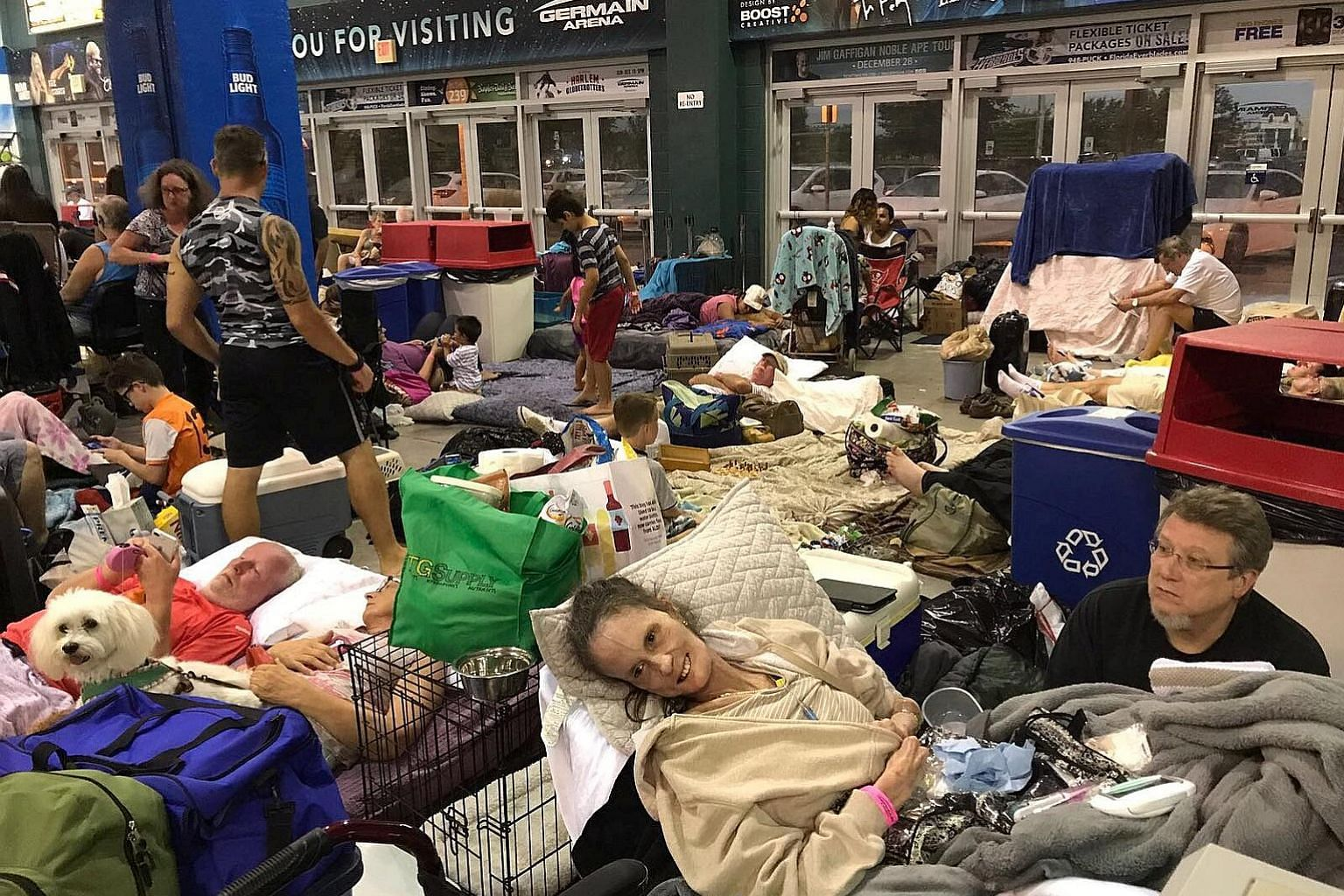 Hurricane Irma's arrival on the Florida coast over the weekend drove more than seven million people from the state seeking shelter. Markets will be monitoring the impact of the storm, which left a trail of death and destruction across the Caribbean.