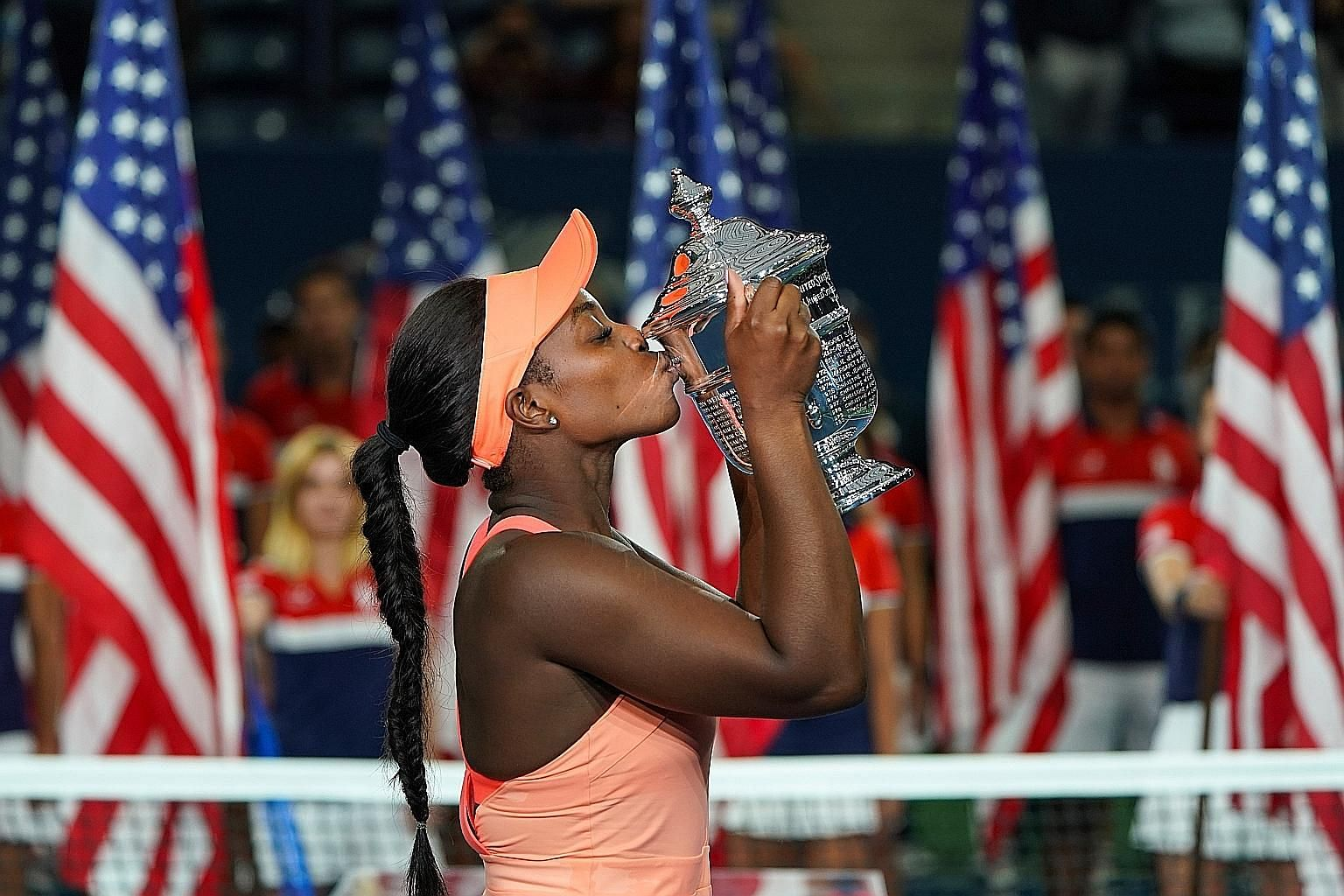 Sloane Stephens savouring sweet success after drubbing compatriot Madison Keys in the US Open final on Saturday.
