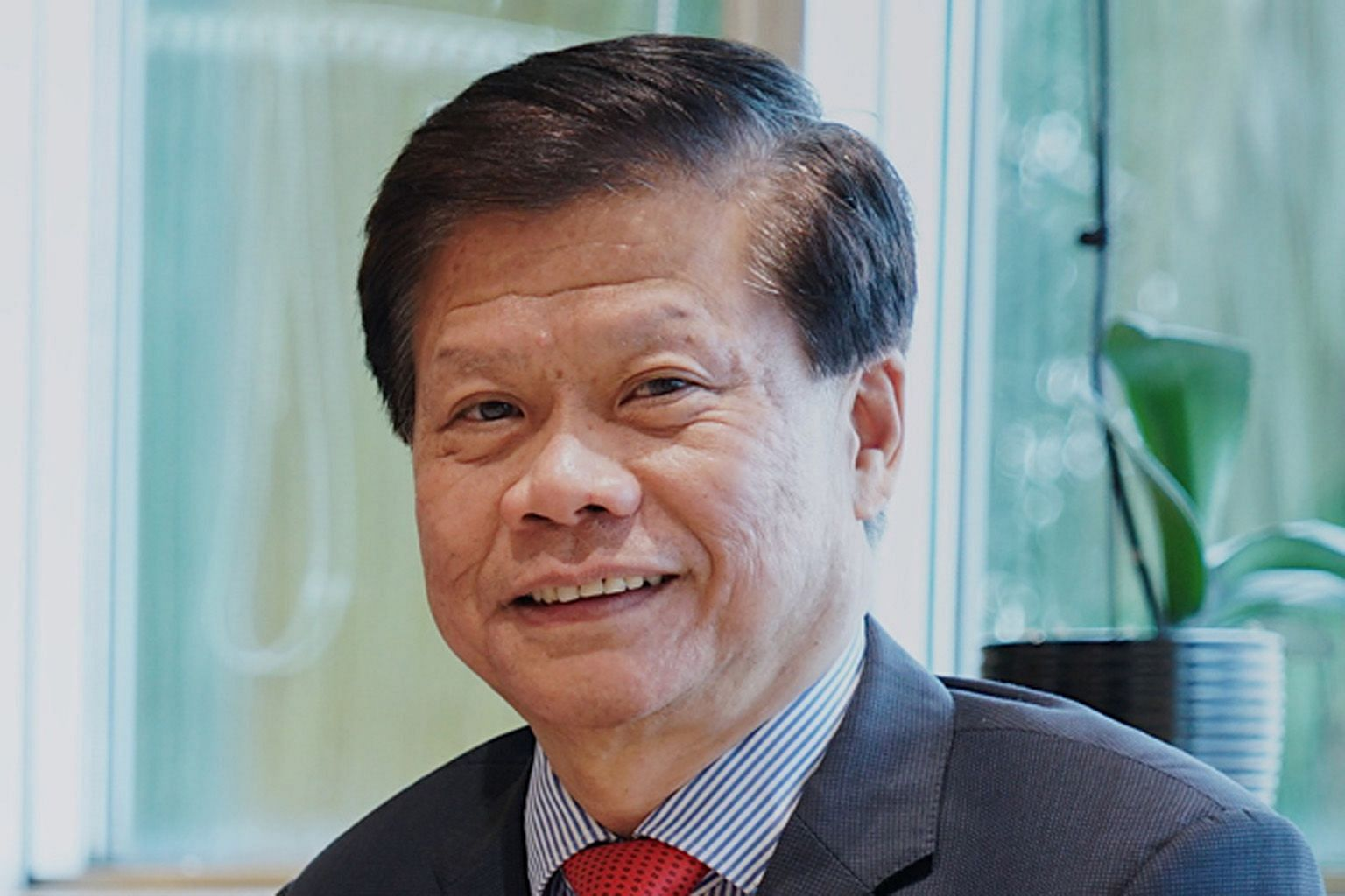 Professor Lam Khin Yong was involved in NTU's tie-ups with French firms and institutions.