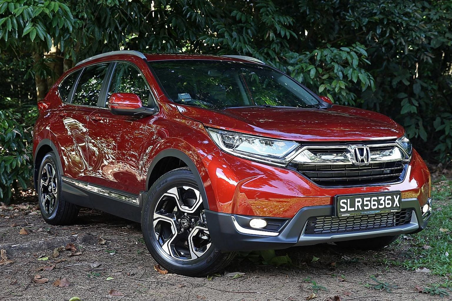 The new Honda CR-V is better-looking than its predecessor and has a sizeable cargo area when the third-row seats are folded flat.
