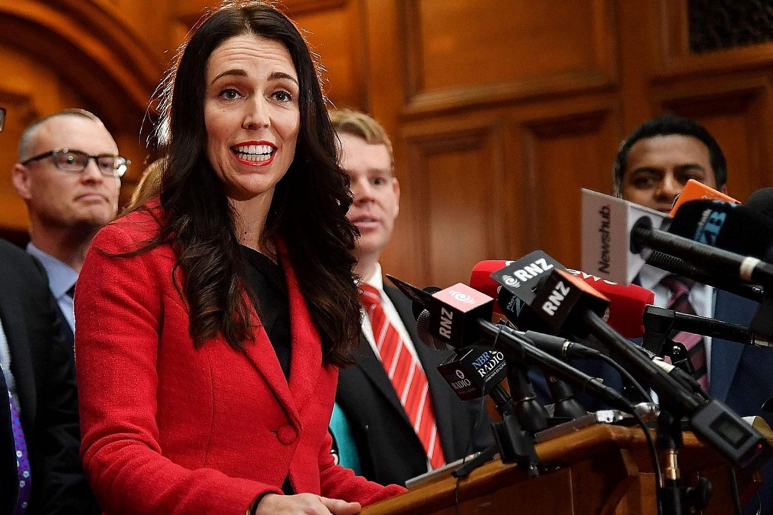 """Ms Jacinda Ardern grew up in Murupara, which had a mainly Maori population, and another small town, Morrinsville. She said her parents instilled in her a """"social conscience"""" that has driven her political career. She is poised to become New Zealand's"""