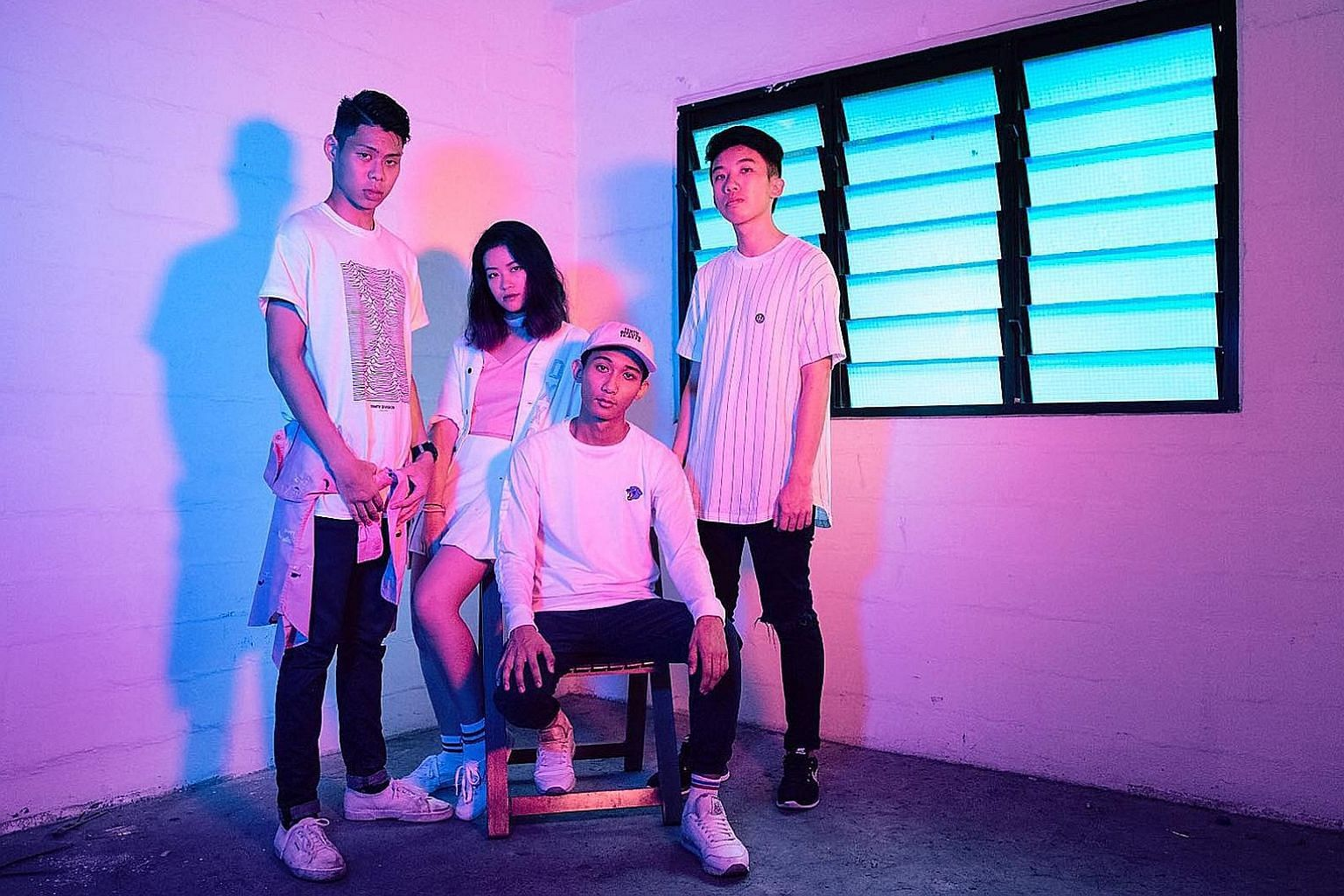 Live music acts such as local electro-pop band Disco Hue will perform at Gillman Barracks on Friday.