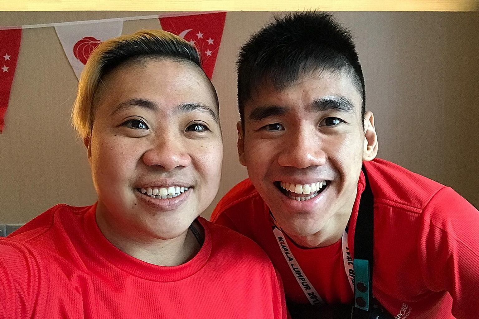 Para-swimmer Theresa Goh and para-shuttler Tay Wei Ming are hoping to strike gold at the Asean Para Games in Kuala Lumpur.