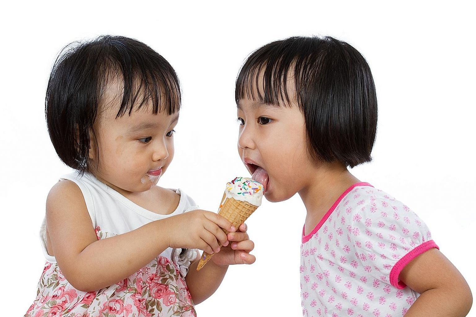 Junk food such as ice cream put one on a sugar high but they have little nutritional value and are linked to health problems.