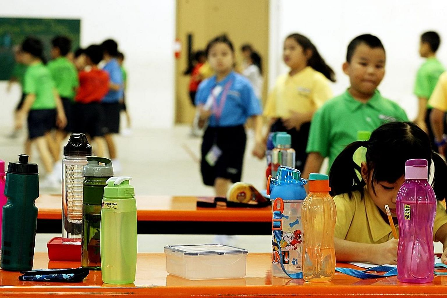 To promote healthy living, some primary schools have done away with drink stalls. Some 86 per cent of people surveyed said they would heed Prime Minister Lee Hsien Loong's advice to cut down on sugar intake.