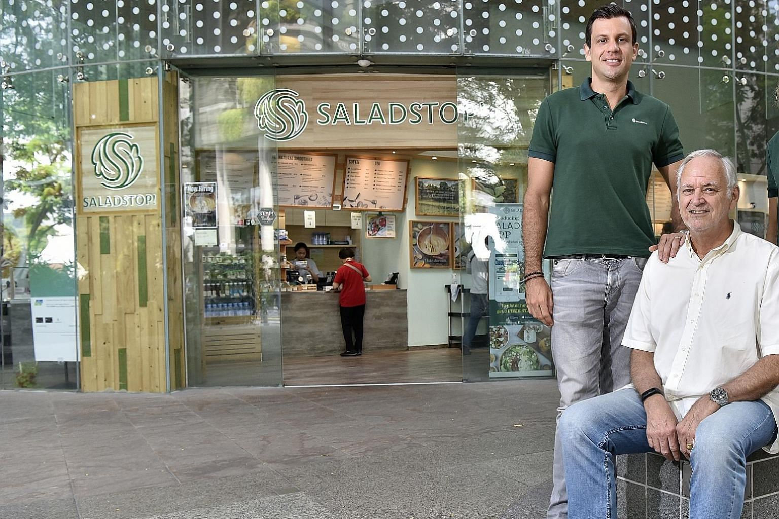 Mr Adrien Desbaillets and his father Daniel want to offer affordable, wholesome and nutritious food.