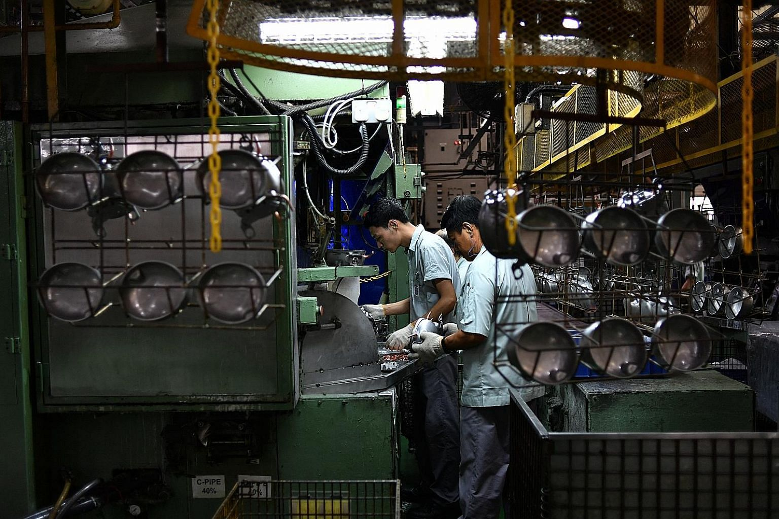 Singapore's manufacturing sector grew 11.2 per cent in the first eight months of the year - the highest since April 2011. DBS economist Irvin Seah said the improved reading for the electronics sector was in line with the latest industrial production