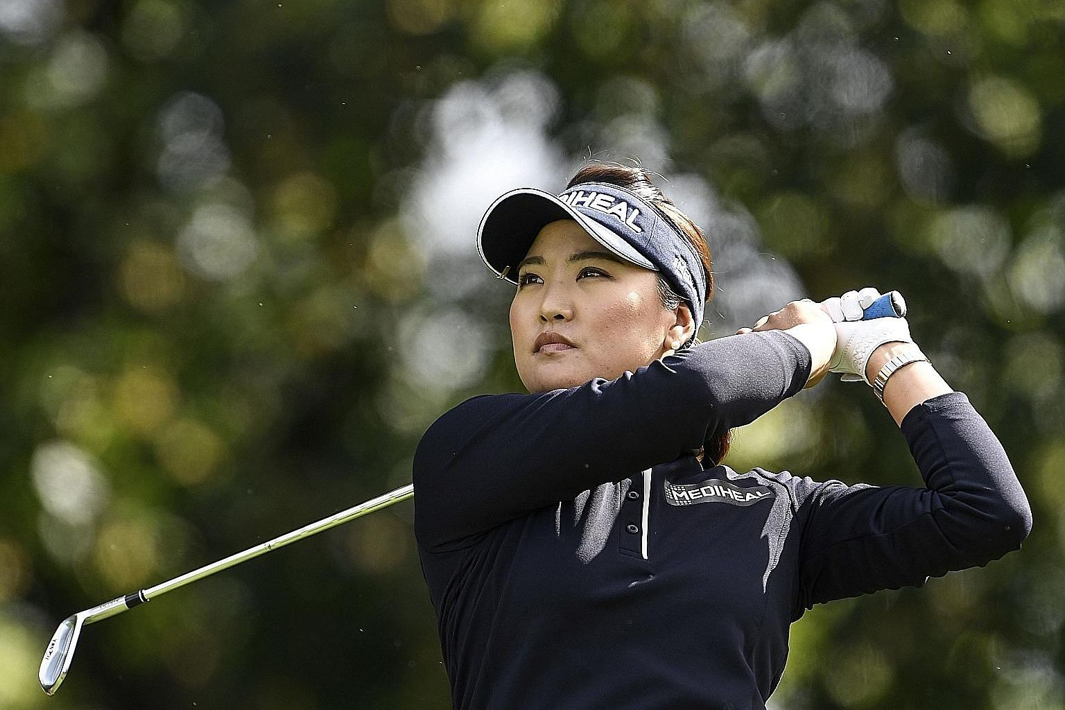 World No. 1 Ryu So Yeon at last month's Evian Championship. Eight of the top 10 women in the rankings would be eligible to play for the International team if the Presidents Cup became mixed-gender.