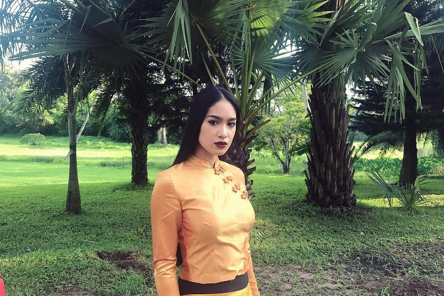 Ms Shwe Eain Si was stripped of her Miss Grand Myanmar title.
