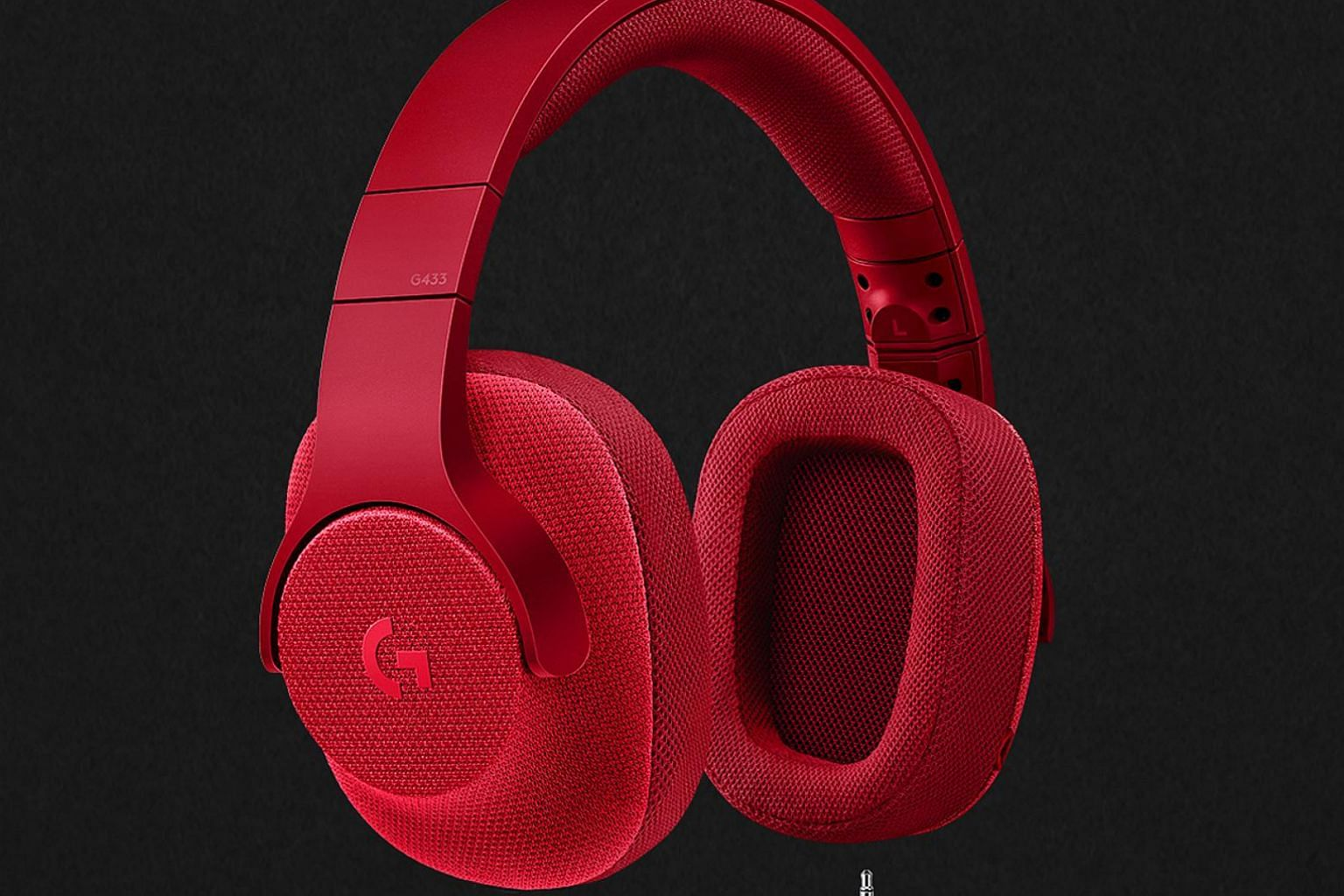 The Logitech G433 portable gaming headset comes in red, blue or the usual black and has a variety of different options for use.