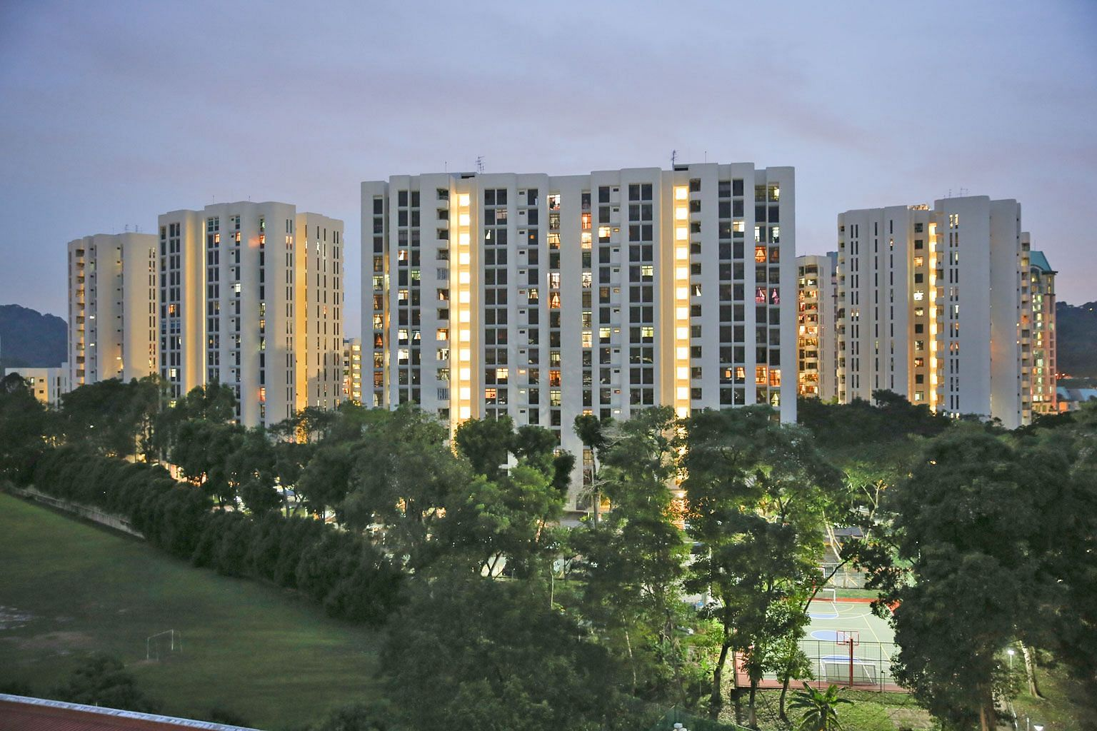 A collective sales committee has been formed at Cashew Heights condominium (above) in Upper Bukit Timah Road, while Royalville in Bukit Timah Road is up for sale at $368 million.