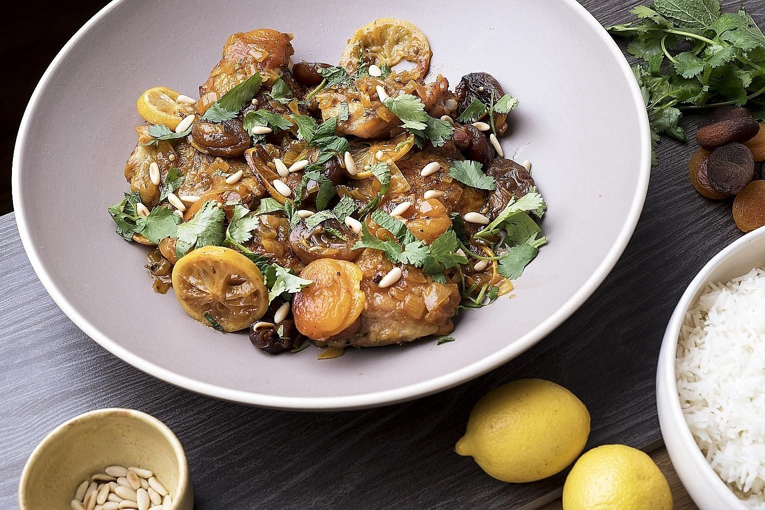 Braising keeps the chicken in this dish tender and succulent.