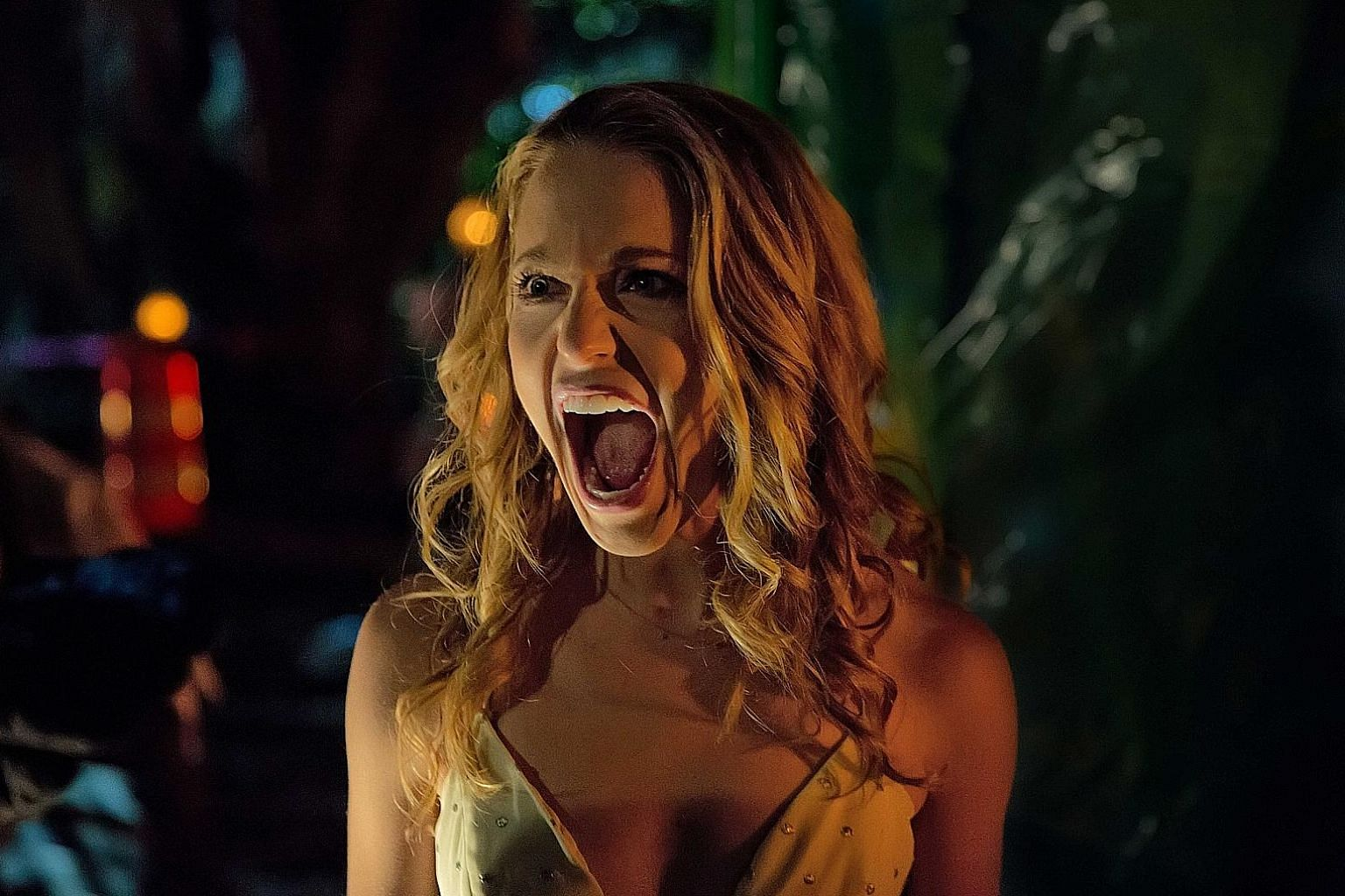 Playing a character who is killed several times in Happy Death Day, Jessica Rothe had to scream loudly and often.