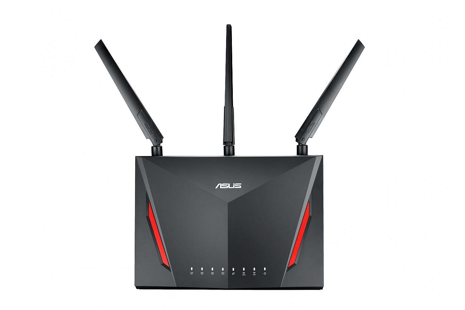 The AC86U dual-band router is bundled with features like free access to the WTFast private network that can improve network latency for popular online games, as well as software to detect malware, block infected devices from accessing the Internet, a