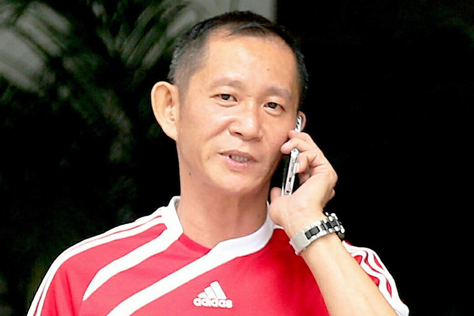 Yeo Poh Kwee ran down almost 20 floors of a staircase with his dog tied to him, causing it to be slammed against the walls and steps.