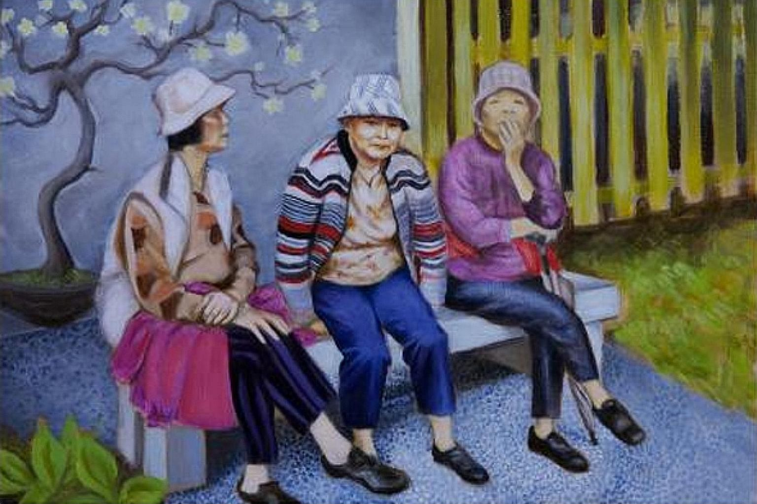 Waiting For Hassana is one of the opening films at the Africa International Film Festival. Cherries take centre stage in Ficksburg, South Africa, during the Ficksburg Cherry Festival. Three Women (above) by artist Shannon Harvey. She is one of the ar