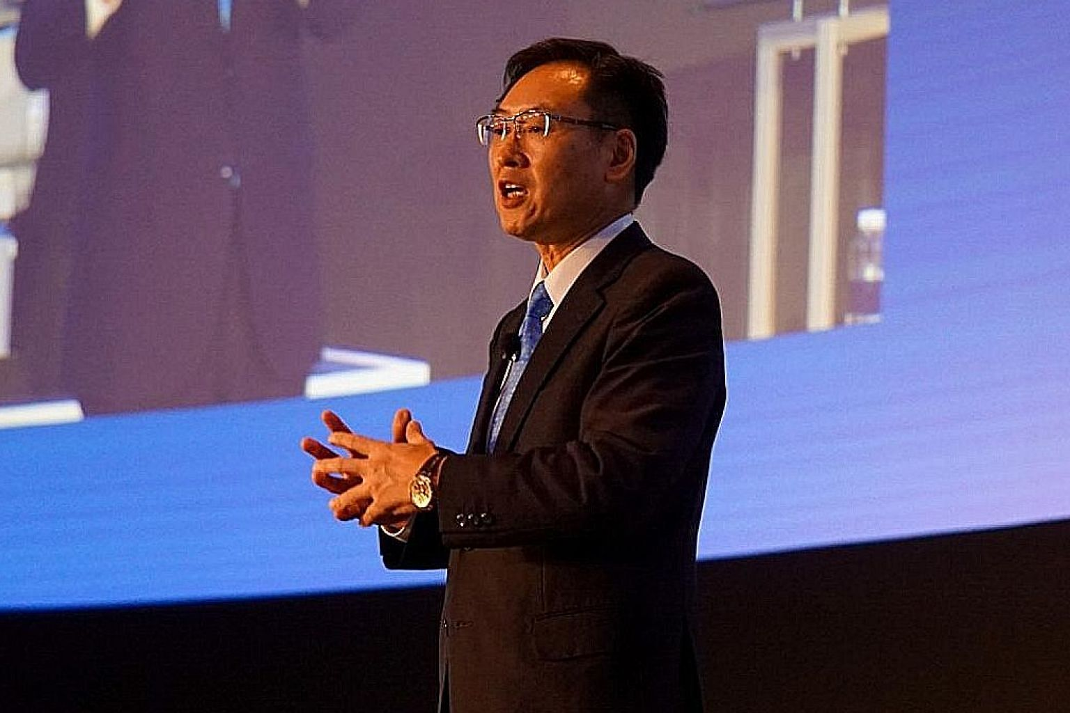"""Seiko Epson Corporation president Minoru Usui said: """"I believe the key is to focus on our core strengths."""""""