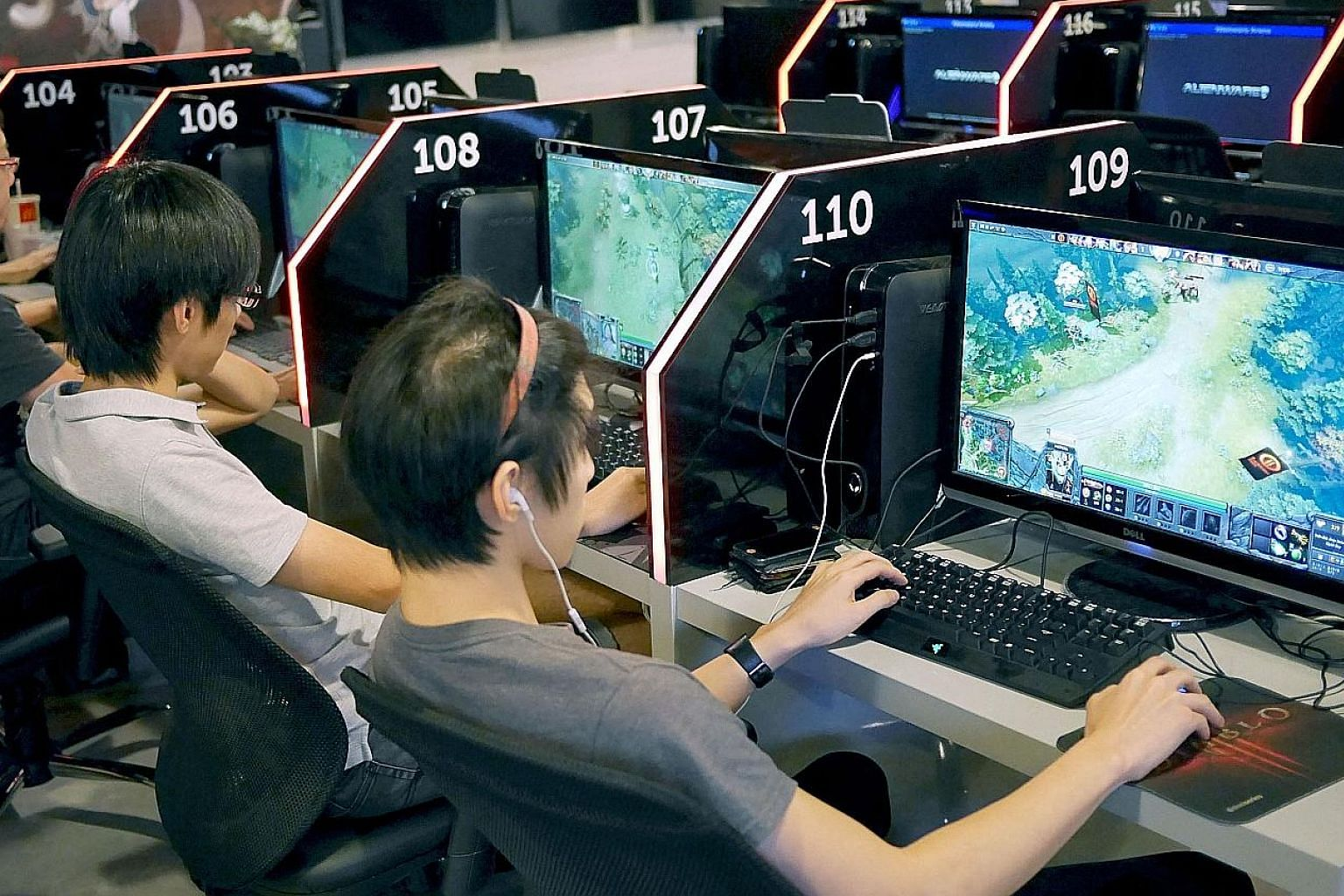 Researchers found that performance in two strategy games including Dota 2 tended to be strongest in players who were around their mid-20s - the same age as one's IQ peaks. This is similar to the behaviour seen for players of traditional strategy game