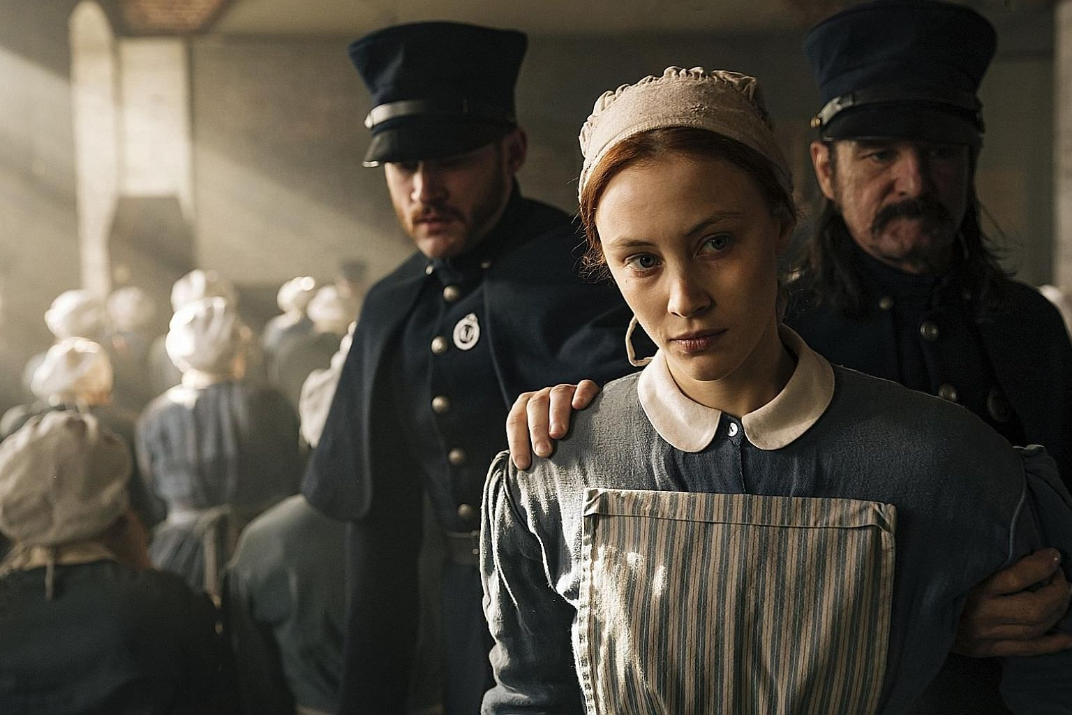 Sarah Gadon is extraordinary as the chameleon-like Grace Marks, who seems at once naive and canny, calculating yet open-hearted, traditional but rebellious.