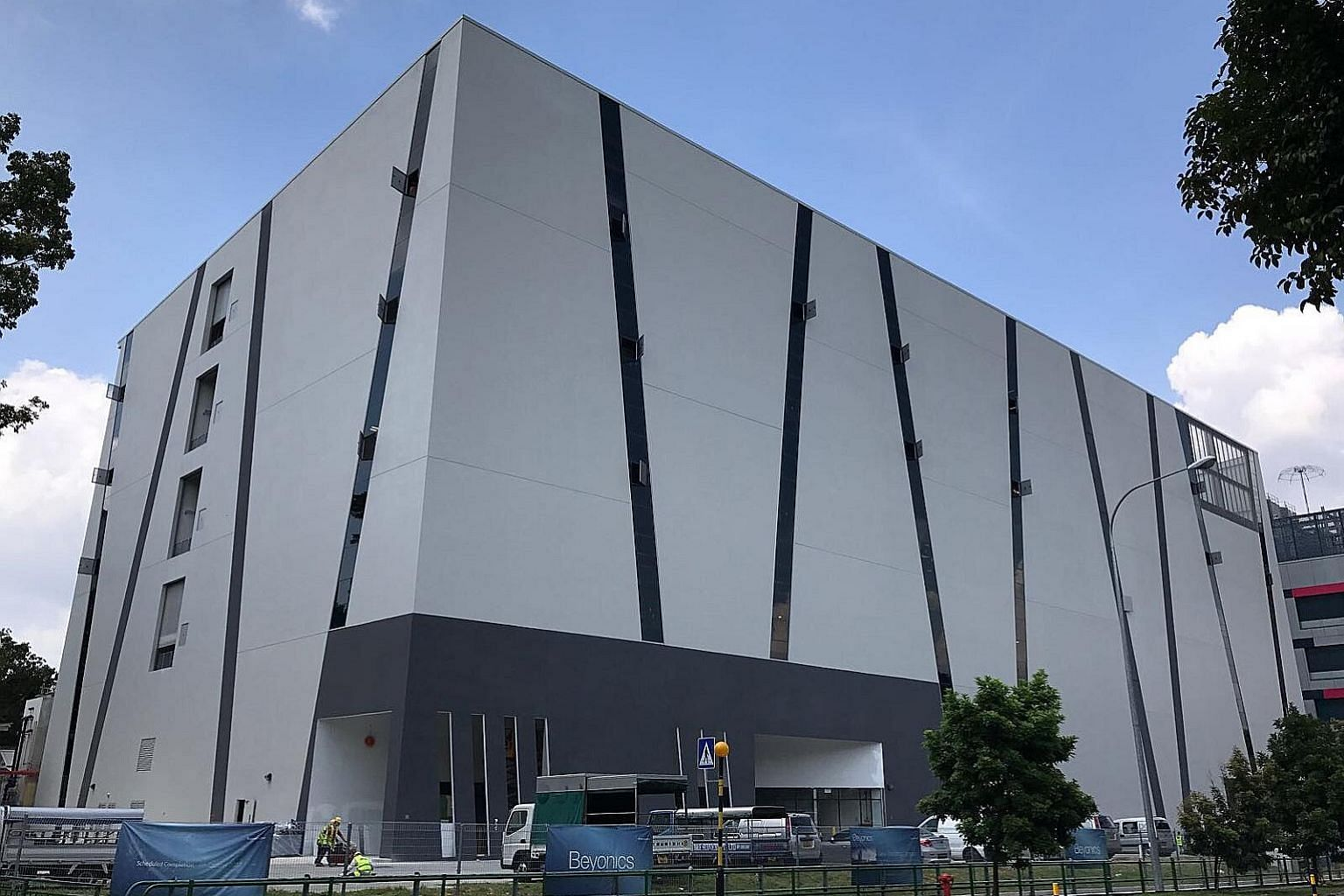 Beyonics' new 230,000 sq ft headquarters in Marsiling replaces four separate manufacturing sites in Singapore. It will house both Beyonics' manufacturing and engineering businesses and is expected to add 62 professional, manager, executive and techni
