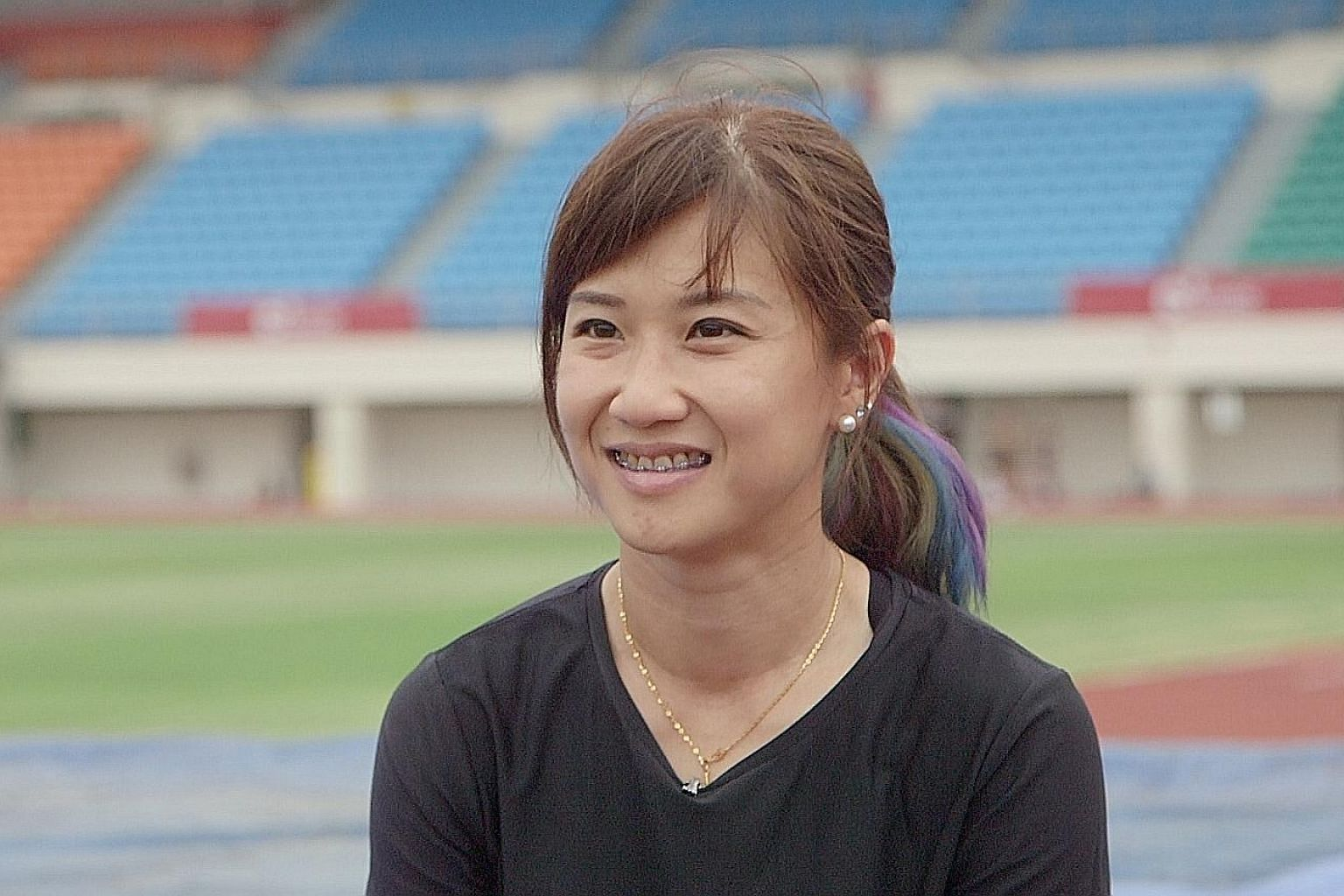 Pole vaulter Rachel Yang had criticised an SA staff member for being negligent.