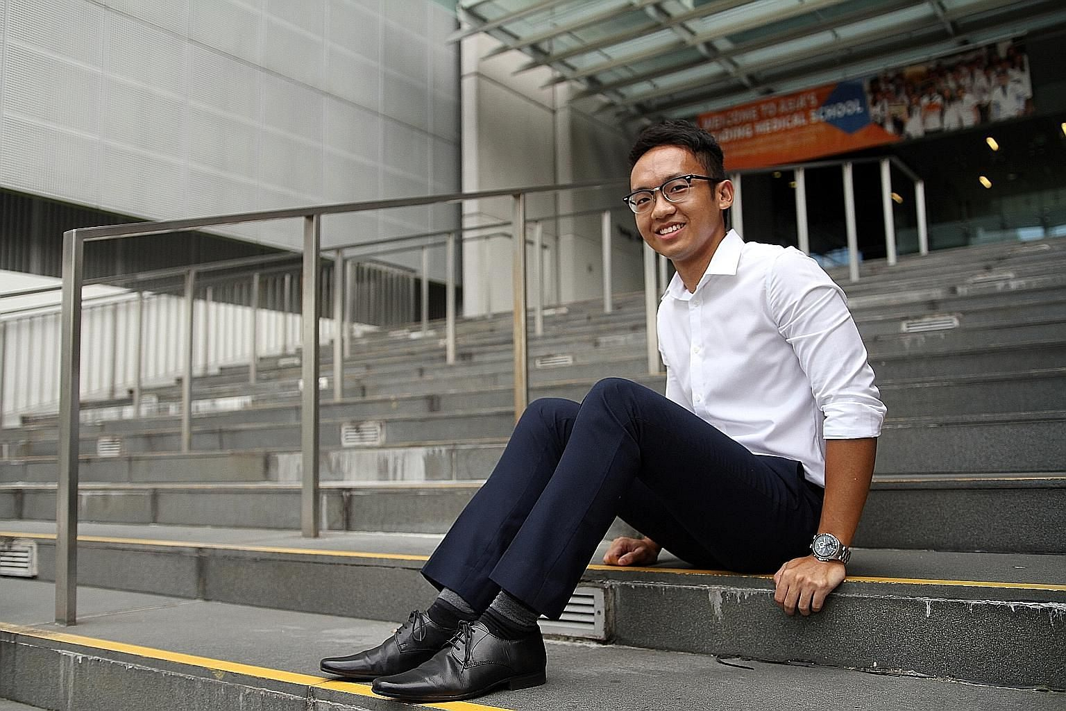 For Mr Tan Jun Xiang, now in his second year at the Yong Loo Lin School of Medicine at NUS, being accepted into his secondary school of choice after his parents appealed marked the start of his path to academic success.