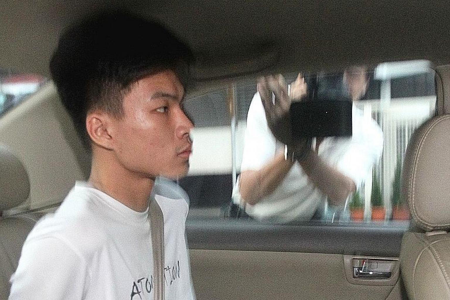 Looi Yu Chong, 20, is linked to a case in which fraudsters allegedly pretended to be officials from China to get a woman to surrender her money.