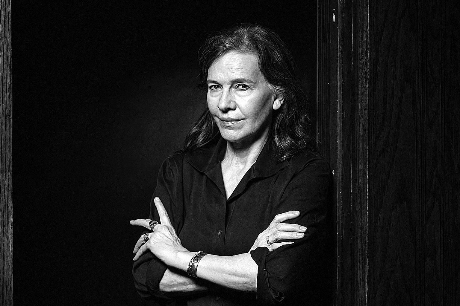 Louise Erdrich wrote the first drafts of Future Home after former United States president George W. Bush won the 2000 US election.