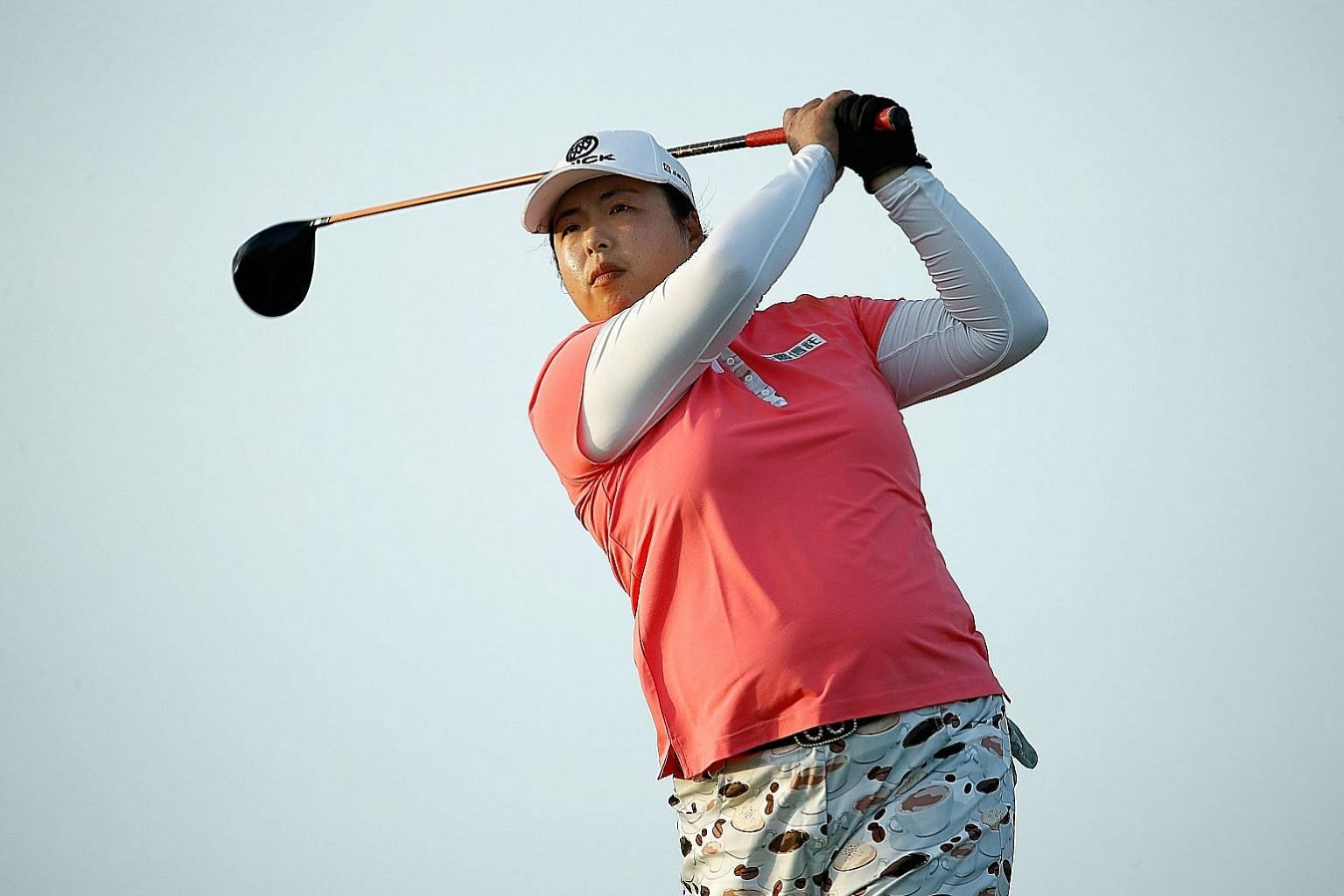 Feng Shanshan is off to a fine start to the LPGA season, ending joint third in Bahamas last week. Her best result in the HSBC event is tied for second in 2012.