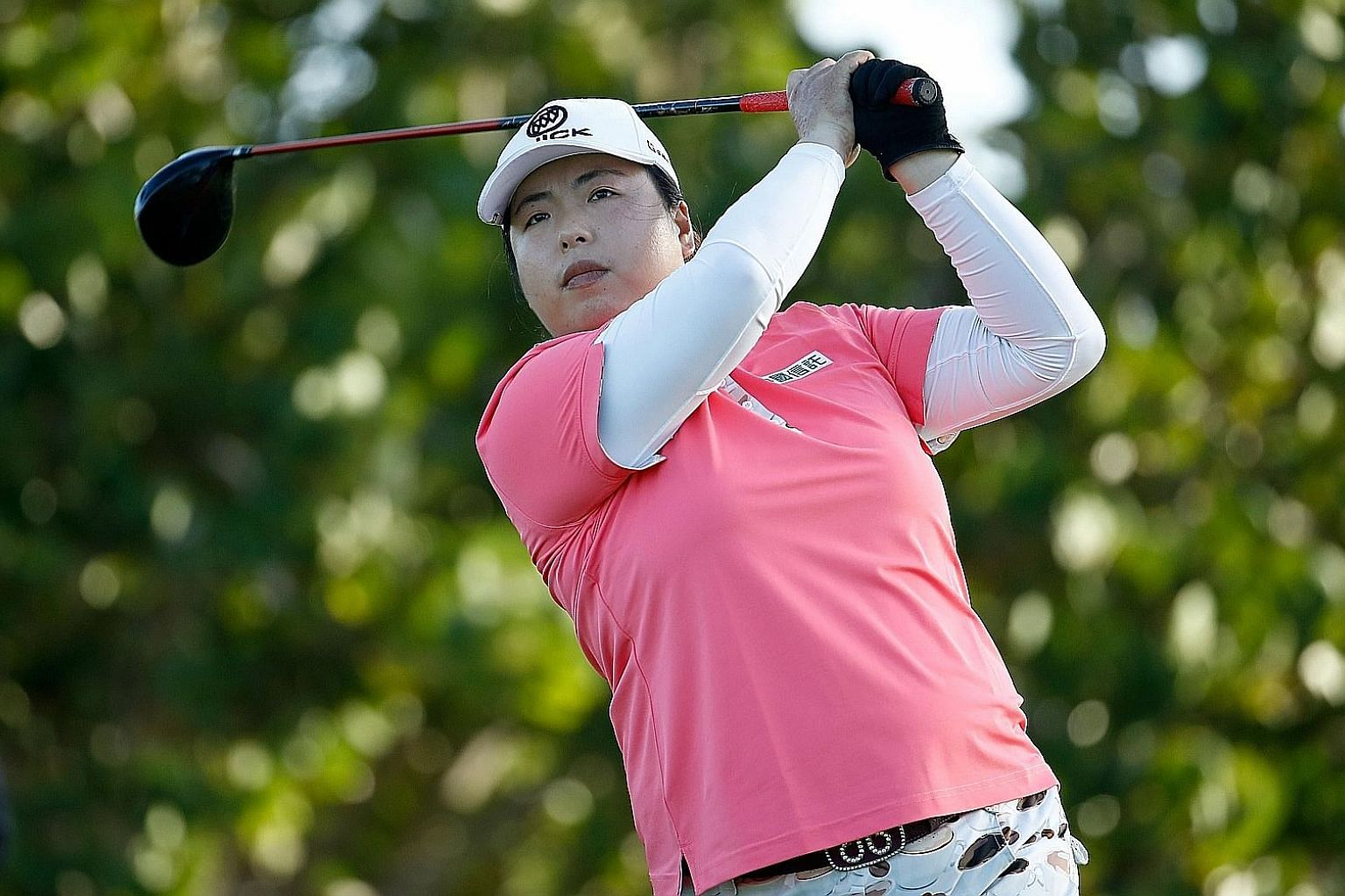 The first Chinese to become the top-ranked golfer in the world, Feng Shanshan will be in Singapore for the March 1-4 HSBC Women's World Championship, where her target is to shoot 15 under for the week.
