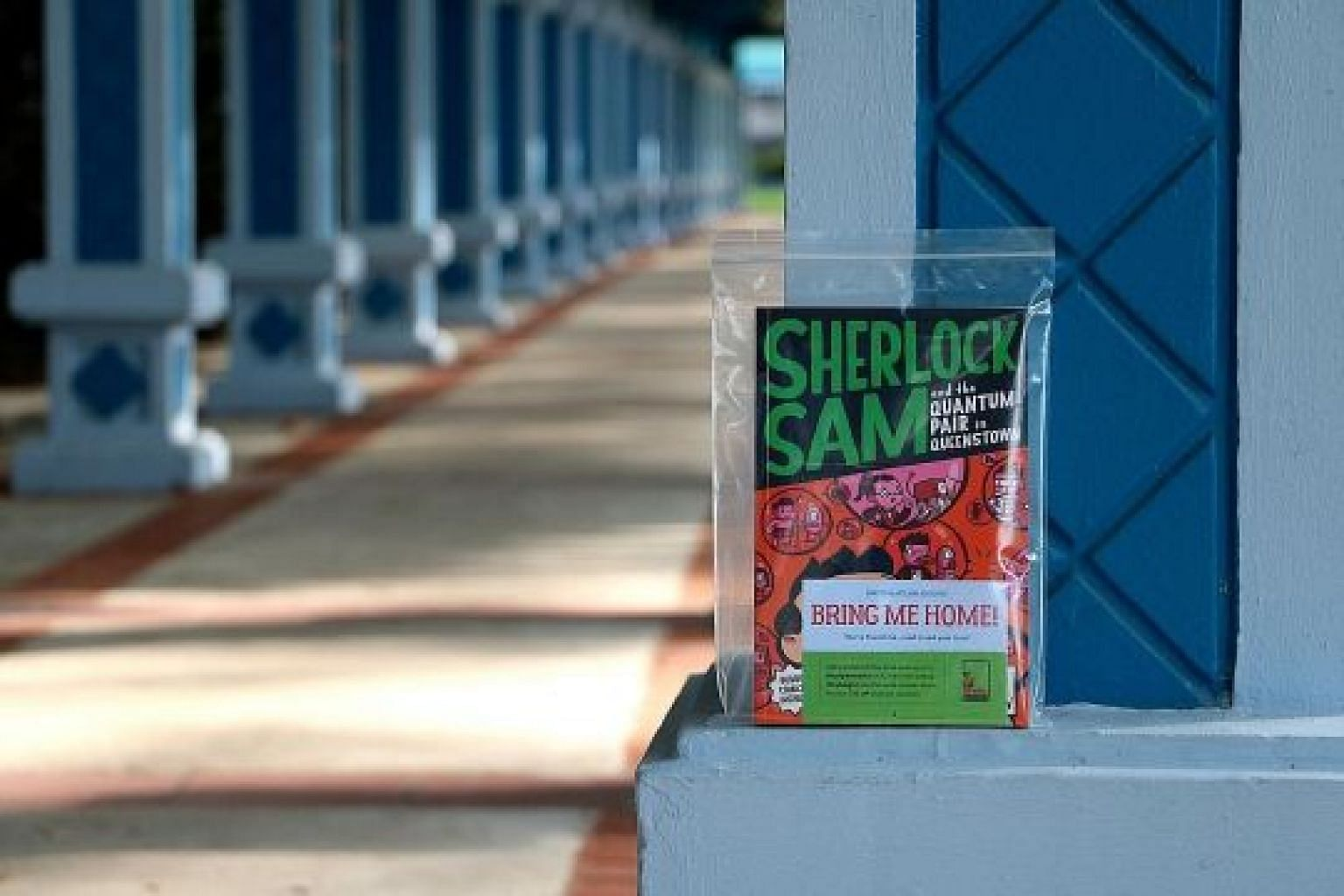 Local publisher Epigram Books will hide 50 books in five heartland areas until Monday as part of The SingLit Heartland Book Drop campaign. It is part of the #BuySingLit movement, which supports local writers.