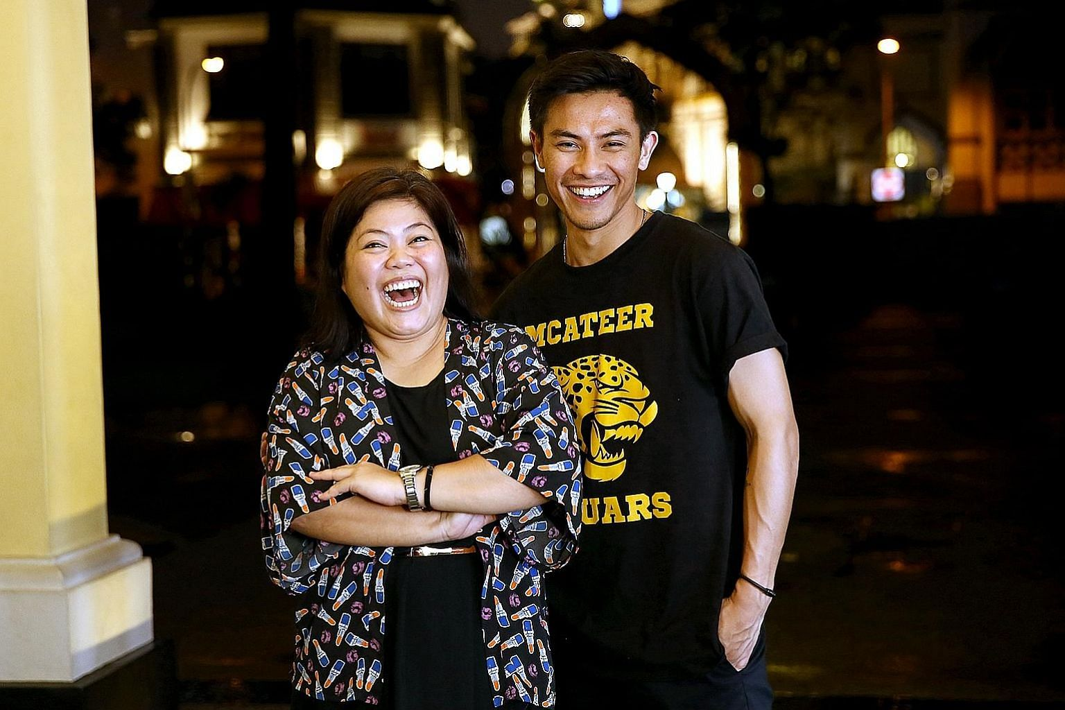 Dalifah Shahril was named Best Actress for her portrayal of a former comfort woman in Hayat Hayatie, staged by Teater Kami, while Thomas Pang took the title of Best Actor for playing a puppeteer in Hand To God, staged by the Singapore Repertory Theat