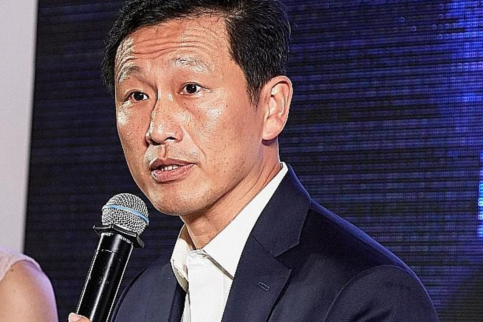 Second Defence Minister Ong Ye Kung spoke at an international security conference in Russia yesterday.