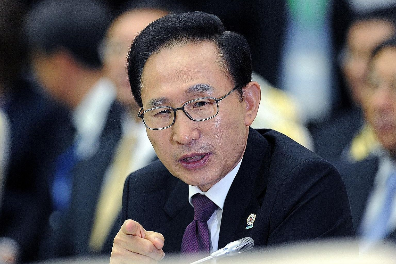 Lee Myung Bak has been charged with bribery, power abuse, embezzlement and tax evasion.
