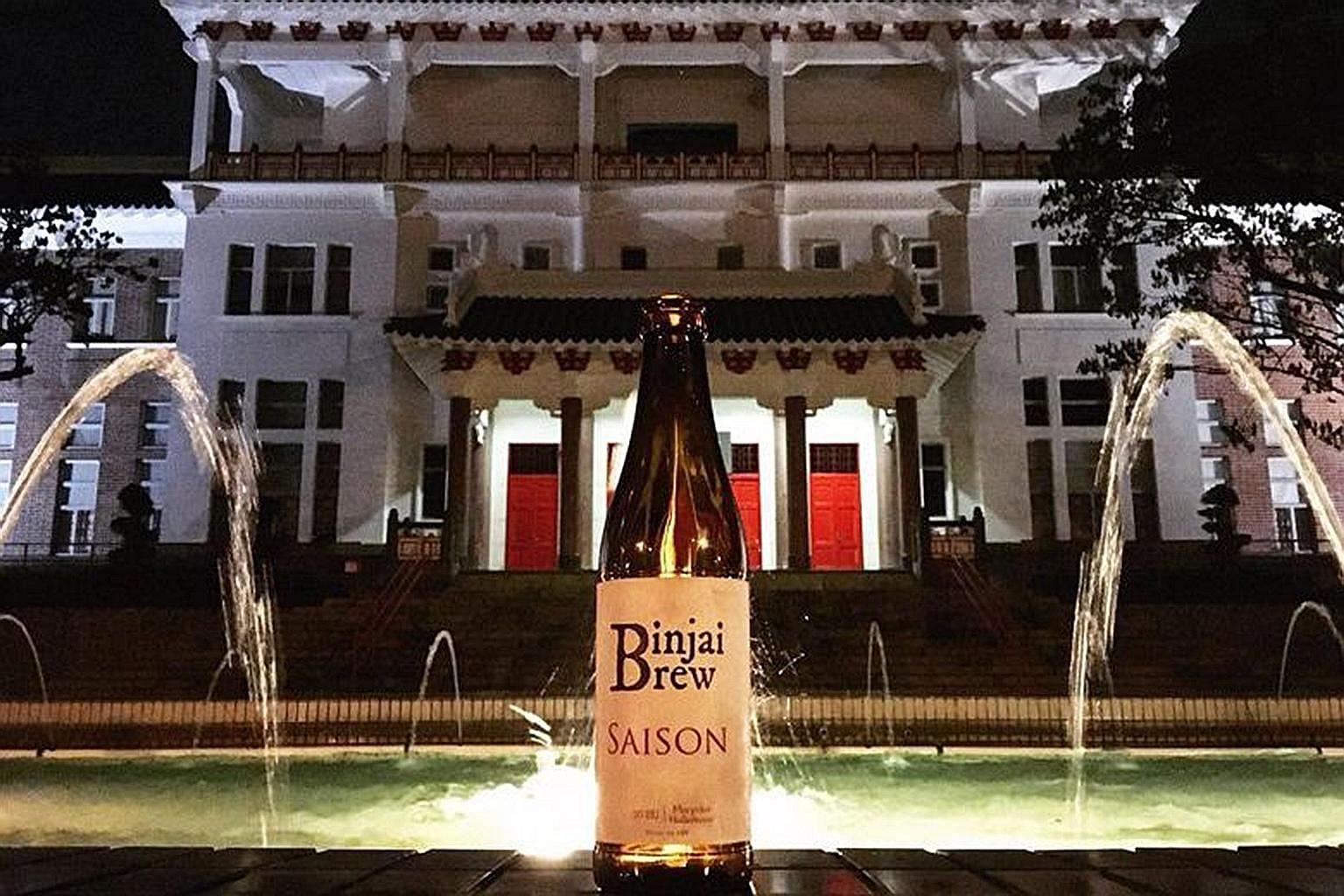 """NTU student Rahul Immandira yesterday said he and his two friends, all fourth-year students, began brewing beer at their residence hall in September last year, adding: """"We got notice from NTU to stop in February."""""""