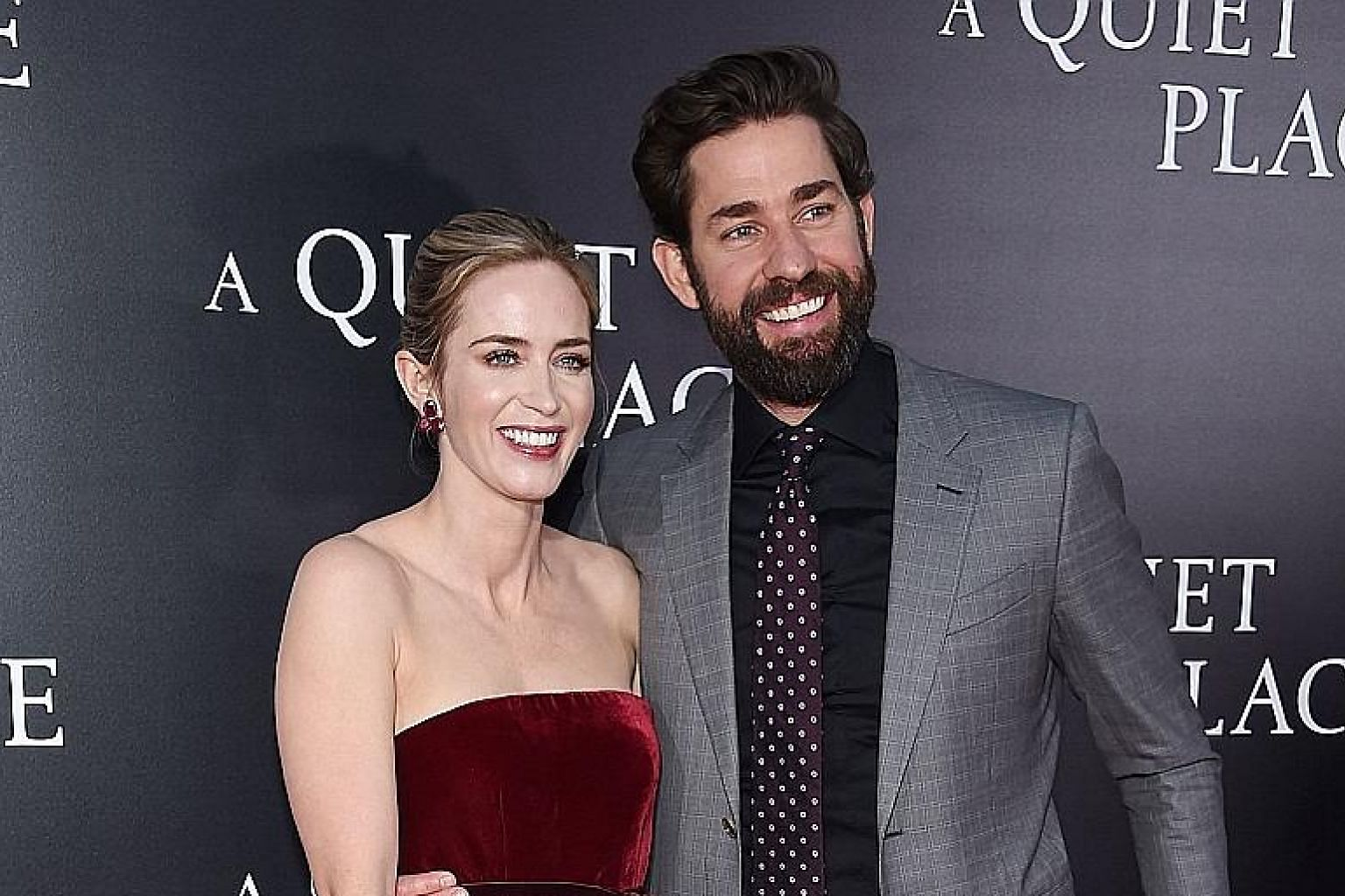 A Quiet Place is the first on-screen collaboration for John Krasinski and Emily Blunt.
