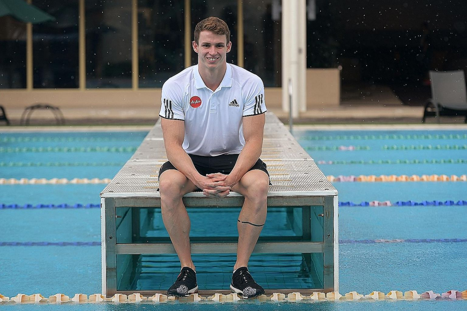 English swimmer Ben Proud is in town as an ambassador for AirAsia. He is the two-time Commonwealth Games 50m freestyle champion and is aiming for gold at Tokyo 2020.
