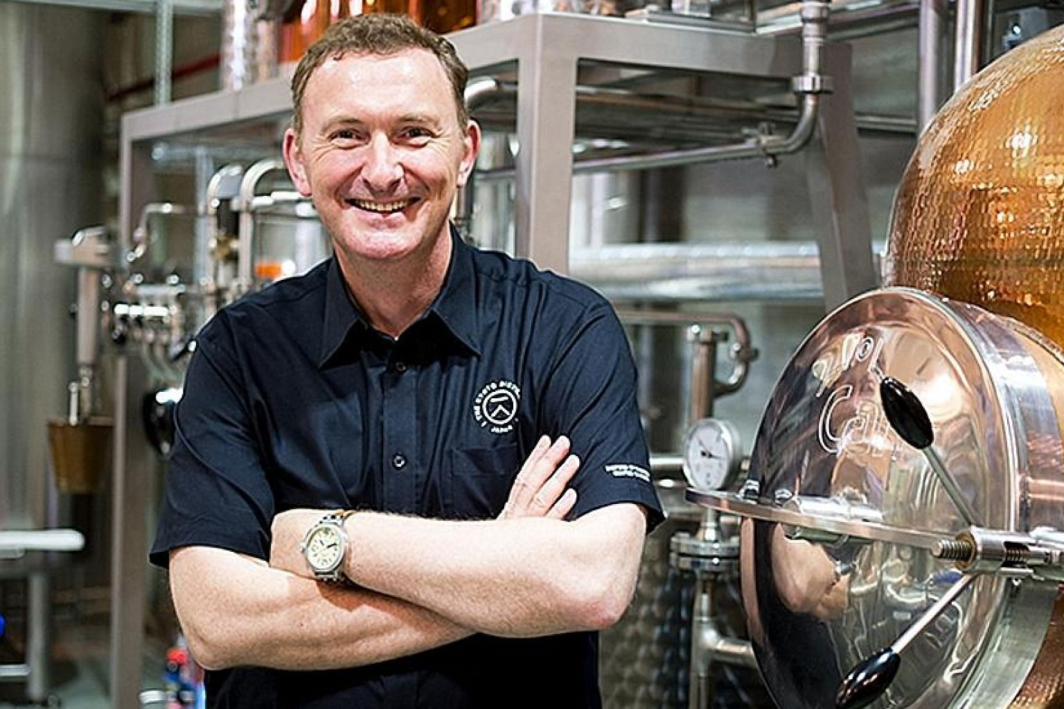 Mr David Croll from England is a co-founder of Japan's The Kyoto Distillery.