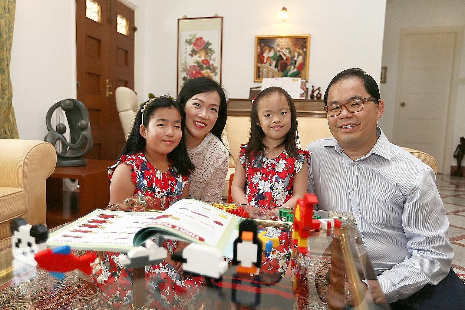 Mr Lim Chee Boon and his wife, Ms Wendy Soh, enrolled their daughter Nichelle in early-intervention programmes and therapies when she was a toddler. Mr Ronald Chen and his wife, Ms Ann Kositchotitana, moved to the United States about three years ago
