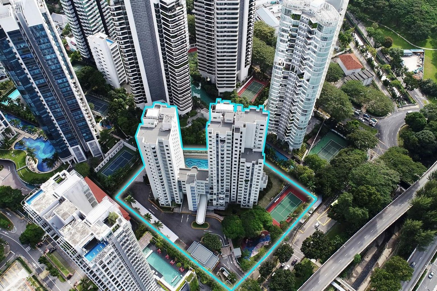 Dunearn Gardens, comprising three adjoining residential blocks, with apartment units ranging from 75 to 306 sq m, was sold to a fully owned subsidiary of EL Development.