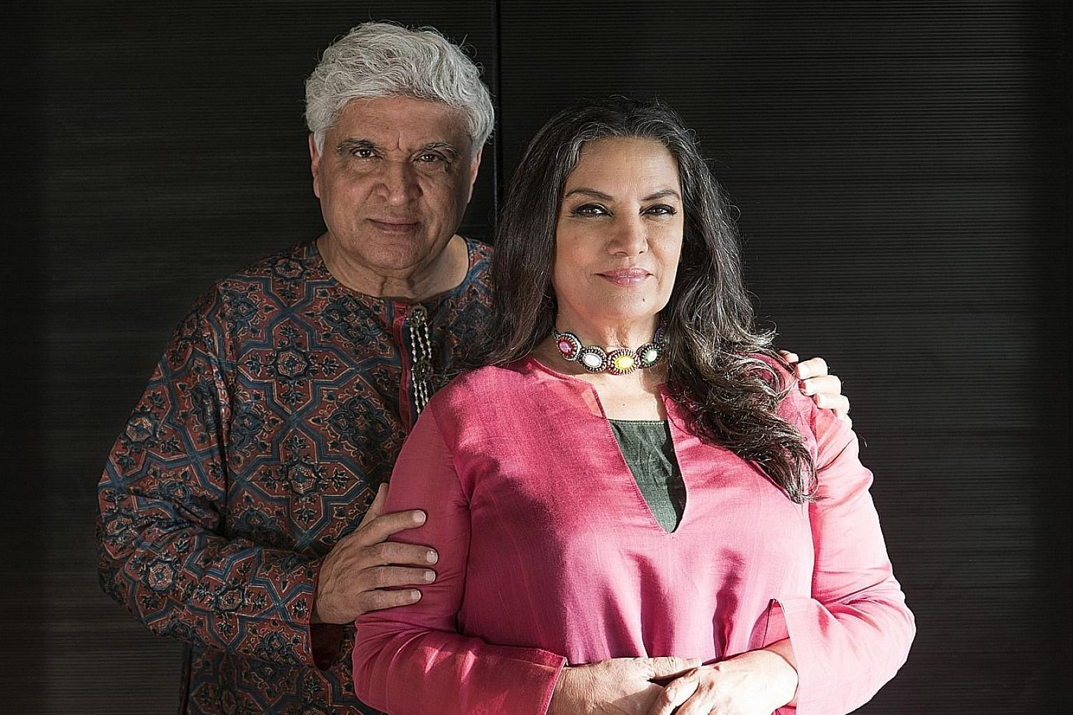 Poet Javed Akhtar and actress Shabana Azmi will be presenting Rhymes Of Love at the Singapore International Festival of Arts.
