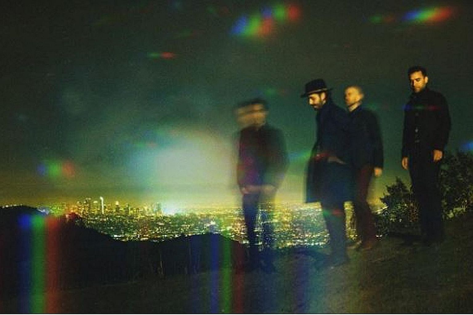 Four-member American indie band Lord Huron are based in Los Angeles.